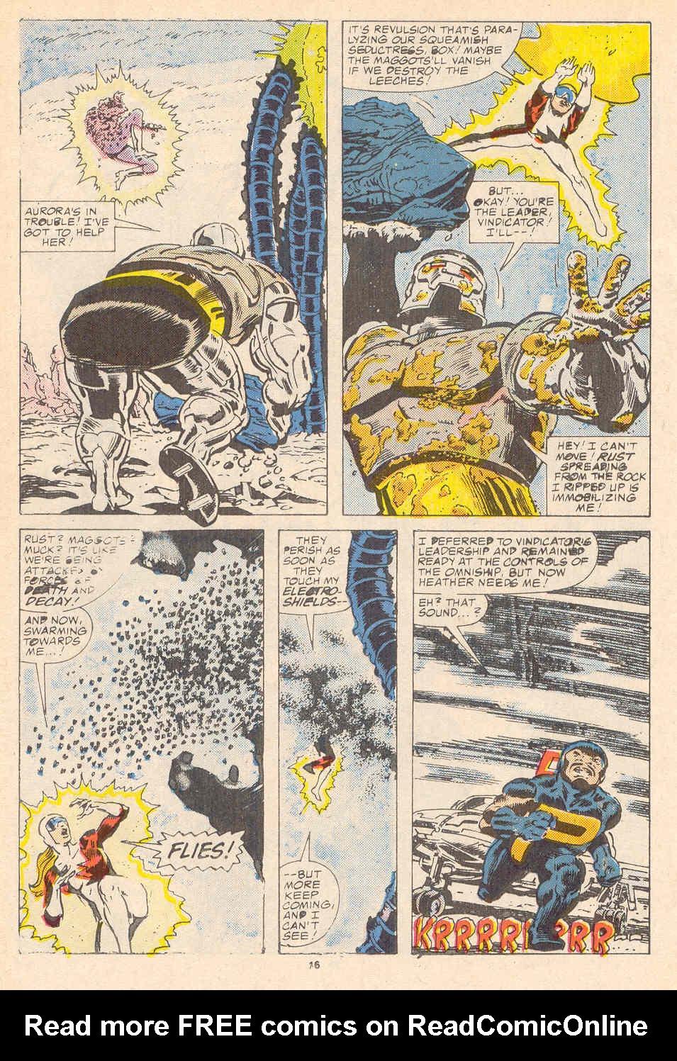 Read online Alpha Flight (1983) comic -  Issue #37 - 17