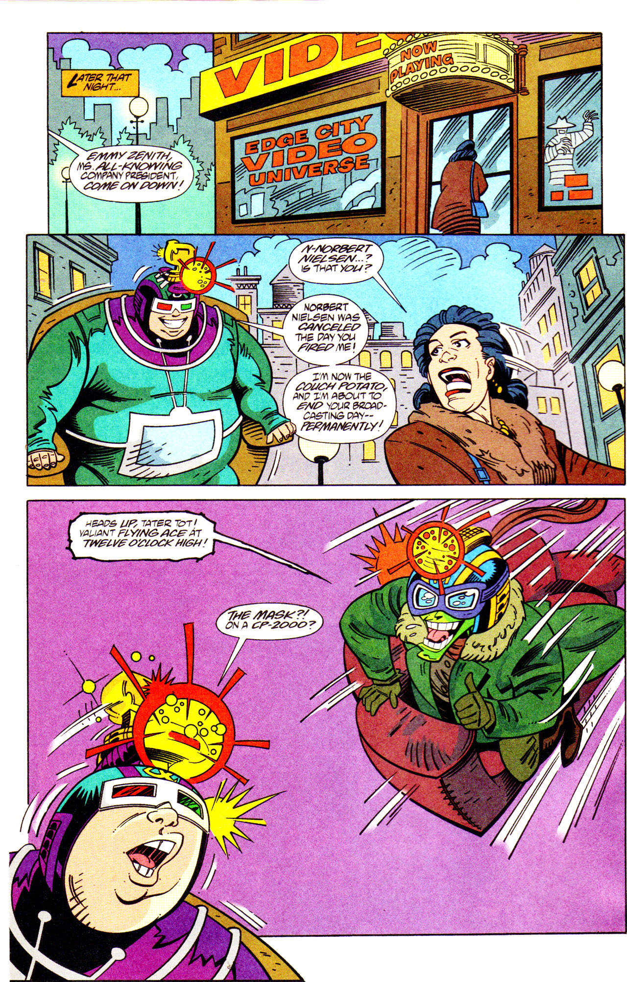 Read online Adventures Of The Mask comic -  Issue #7 - 20