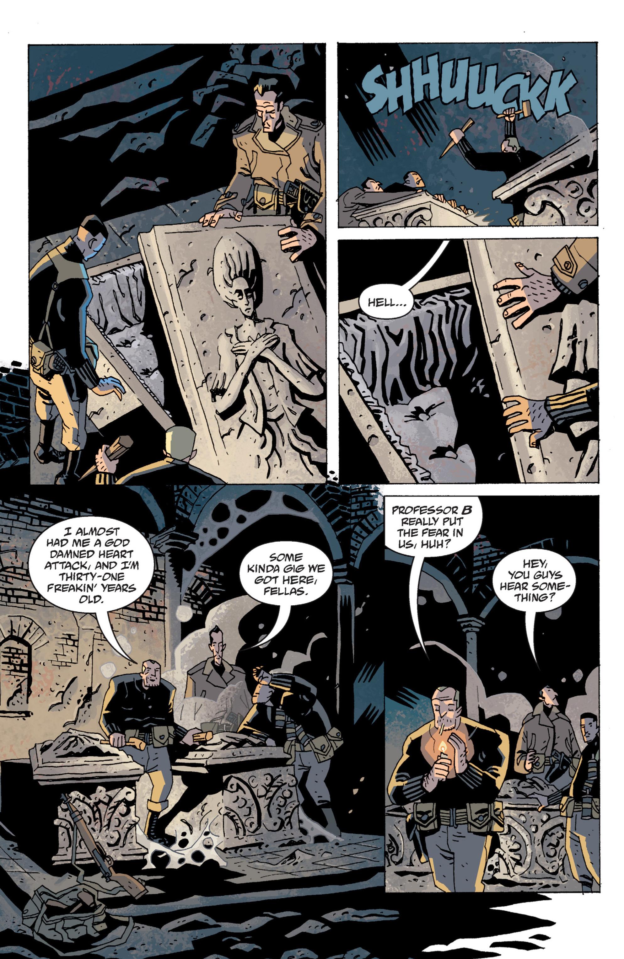 Read online B.P.R.D. (2003) comic -  Issue # TPB 13 - 62