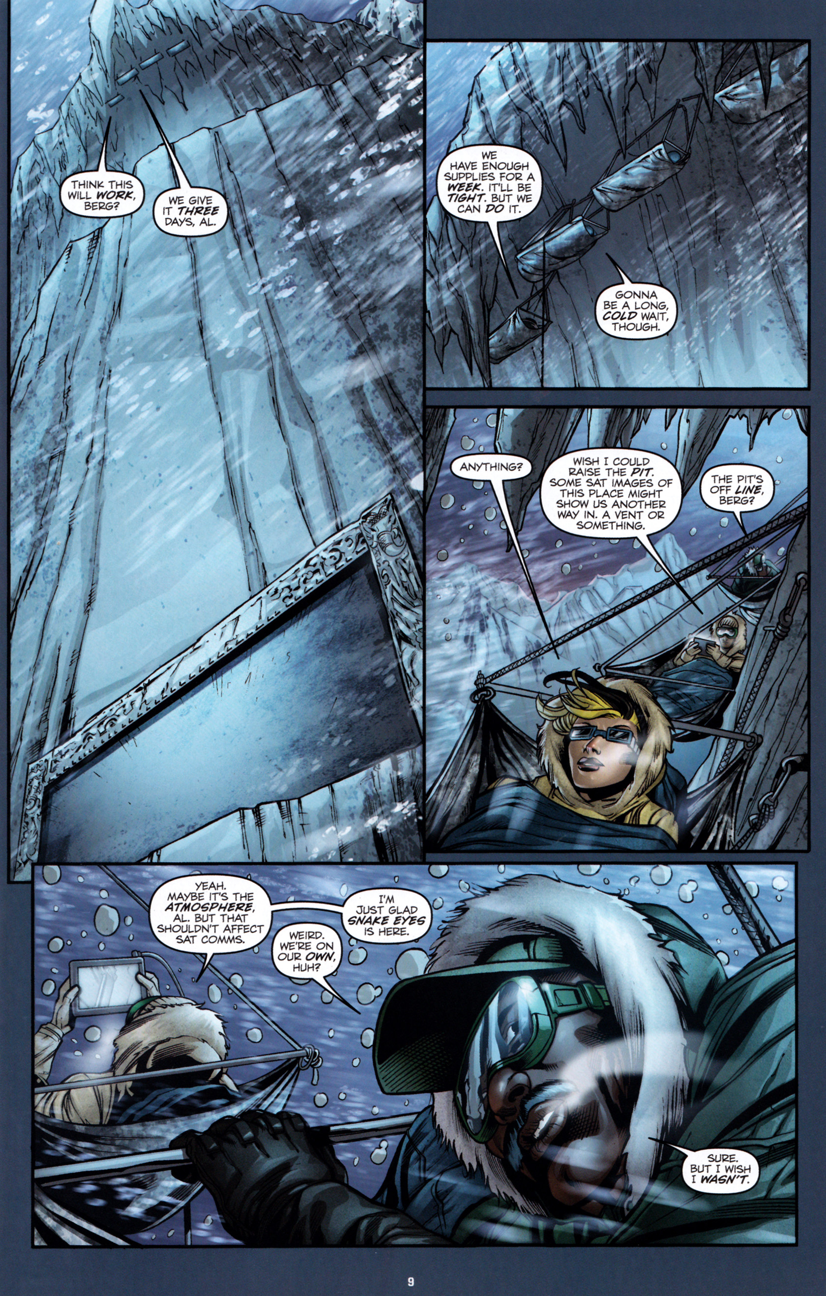Read online G.I. Joe: Snake Eyes comic -  Issue #1 - 12
