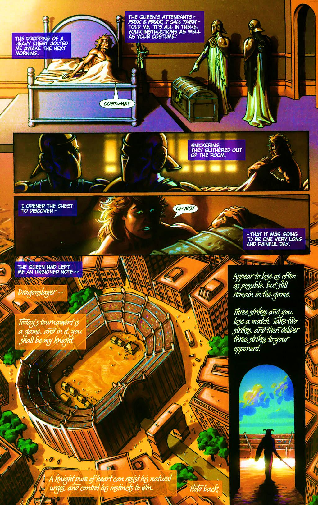 Read online Dawn: Three Tiers comic -  Issue #4 - 8
