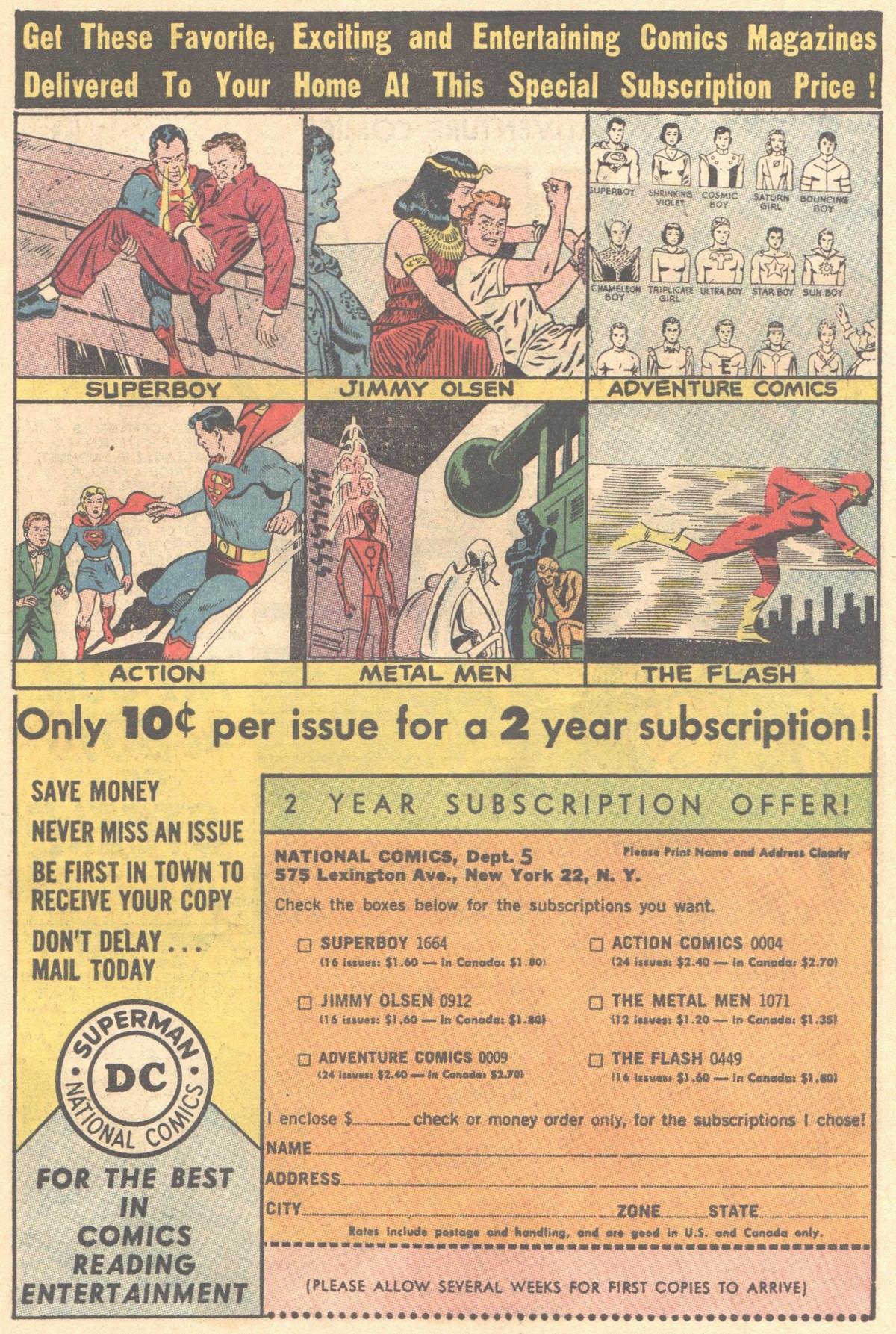 Read online Adventure Comics (1938) comic -  Issue #314 - 23