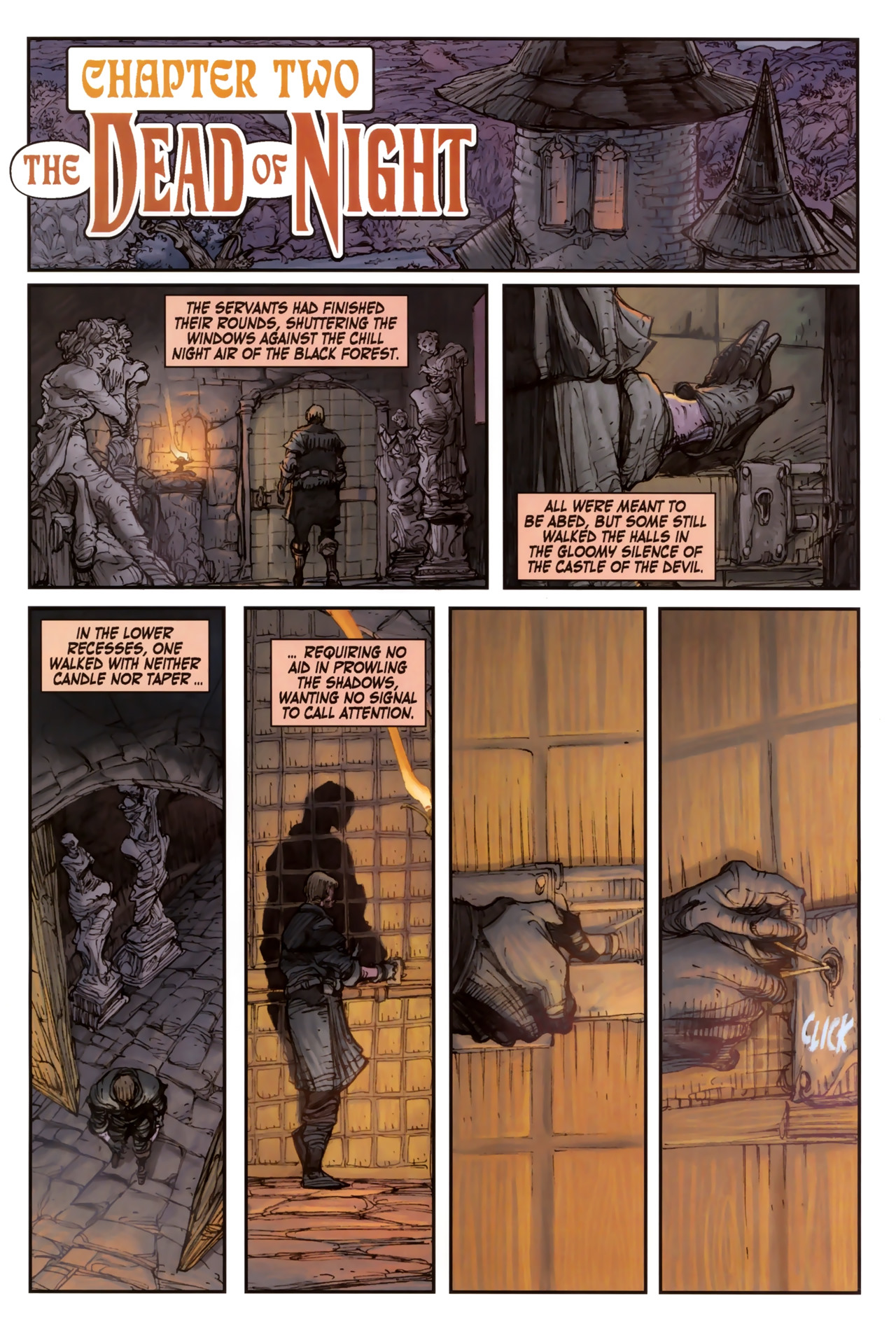 Read online Solomon Kane comic -  Issue #2 - 3