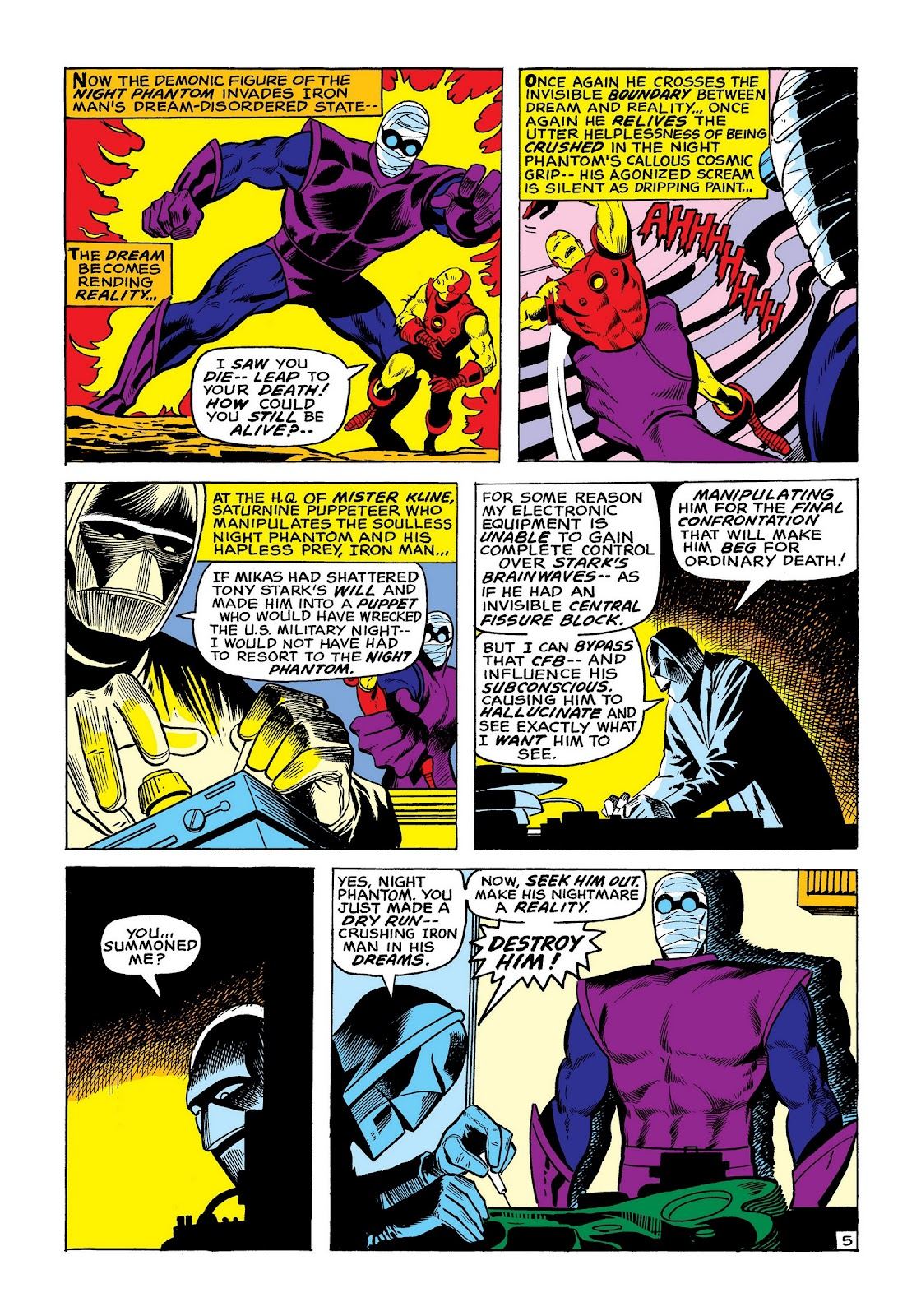 Read online Marvel Masterworks: The Invincible Iron Man comic -  Issue # TPB 8 (Part 2) - 13
