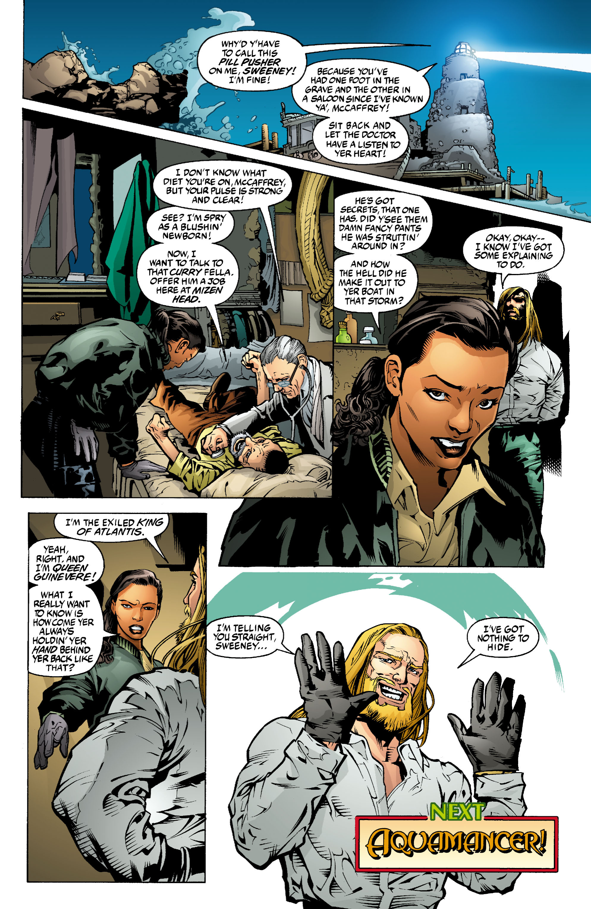 Read online Aquaman (2003) comic -  Issue #2 - 23