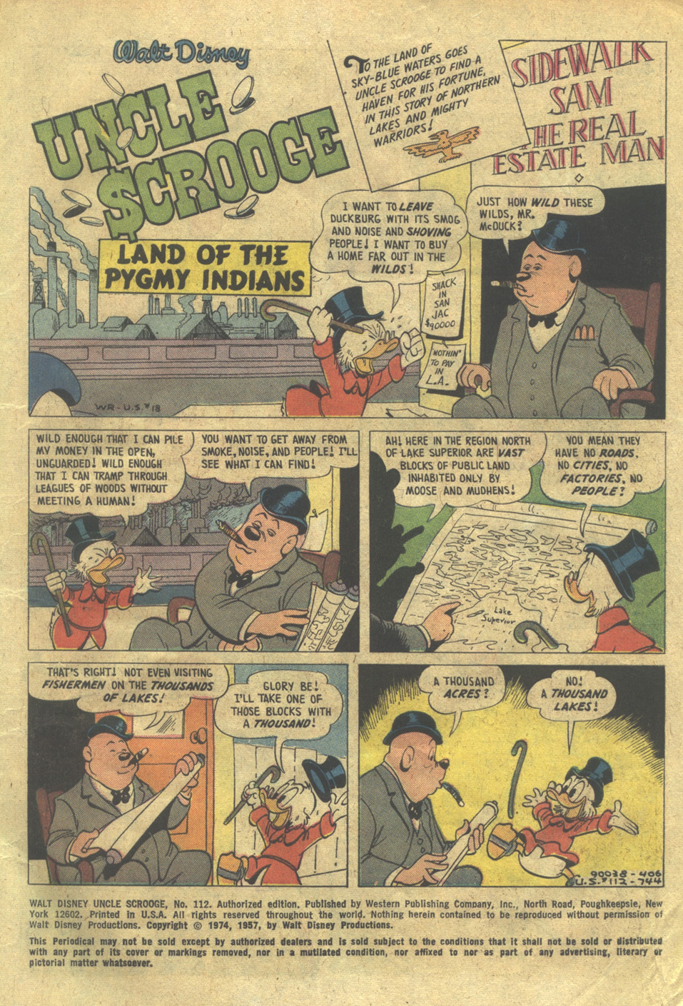 Read online Uncle Scrooge (1953) comic -  Issue #112 - 3