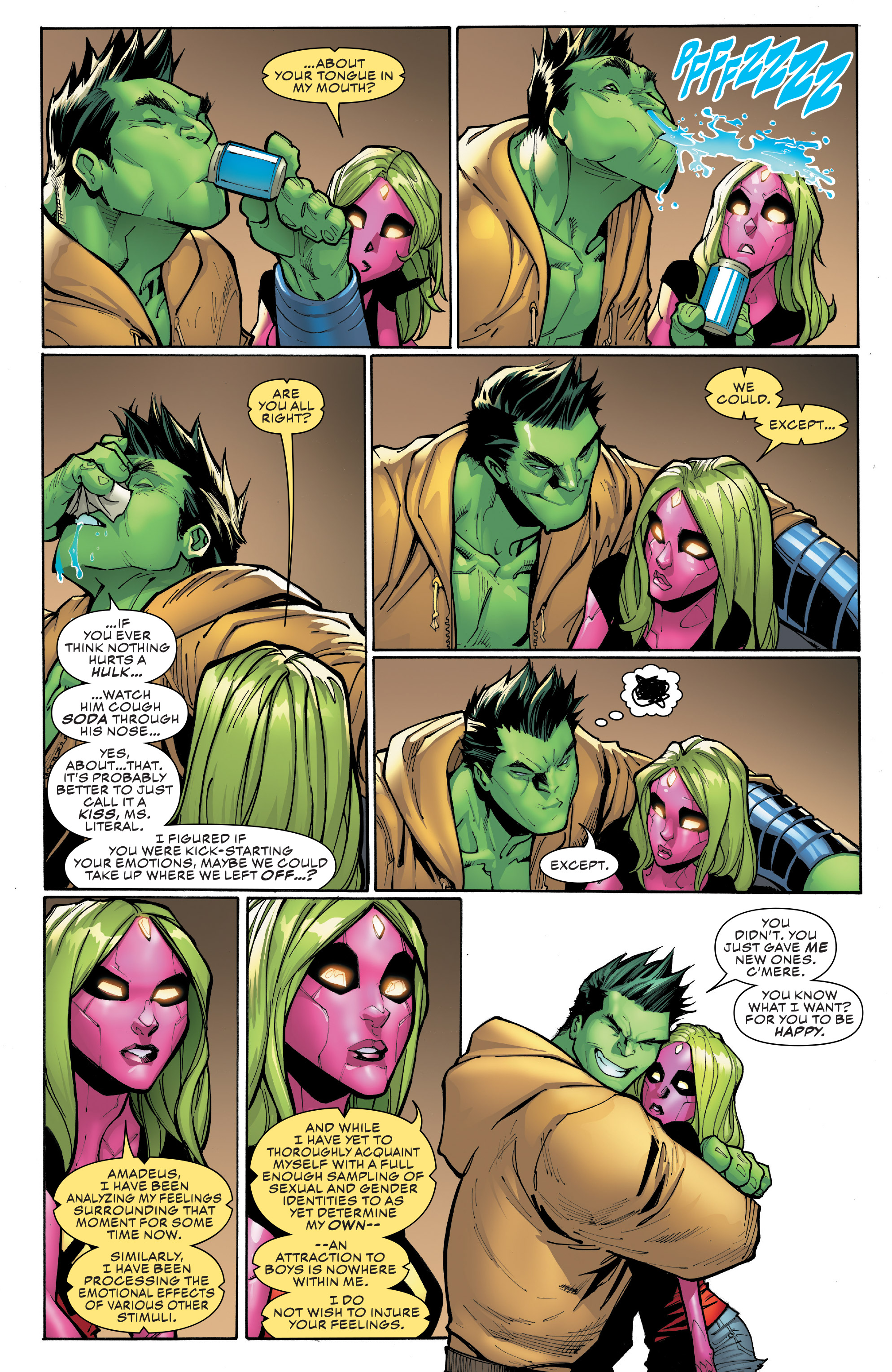 Read online Champions (2016) comic -  Issue #8 - 14