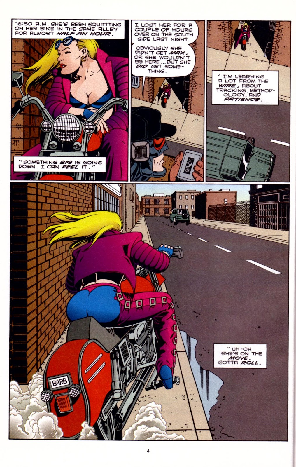 Barb Wire (1994) issue 3 - Page 5