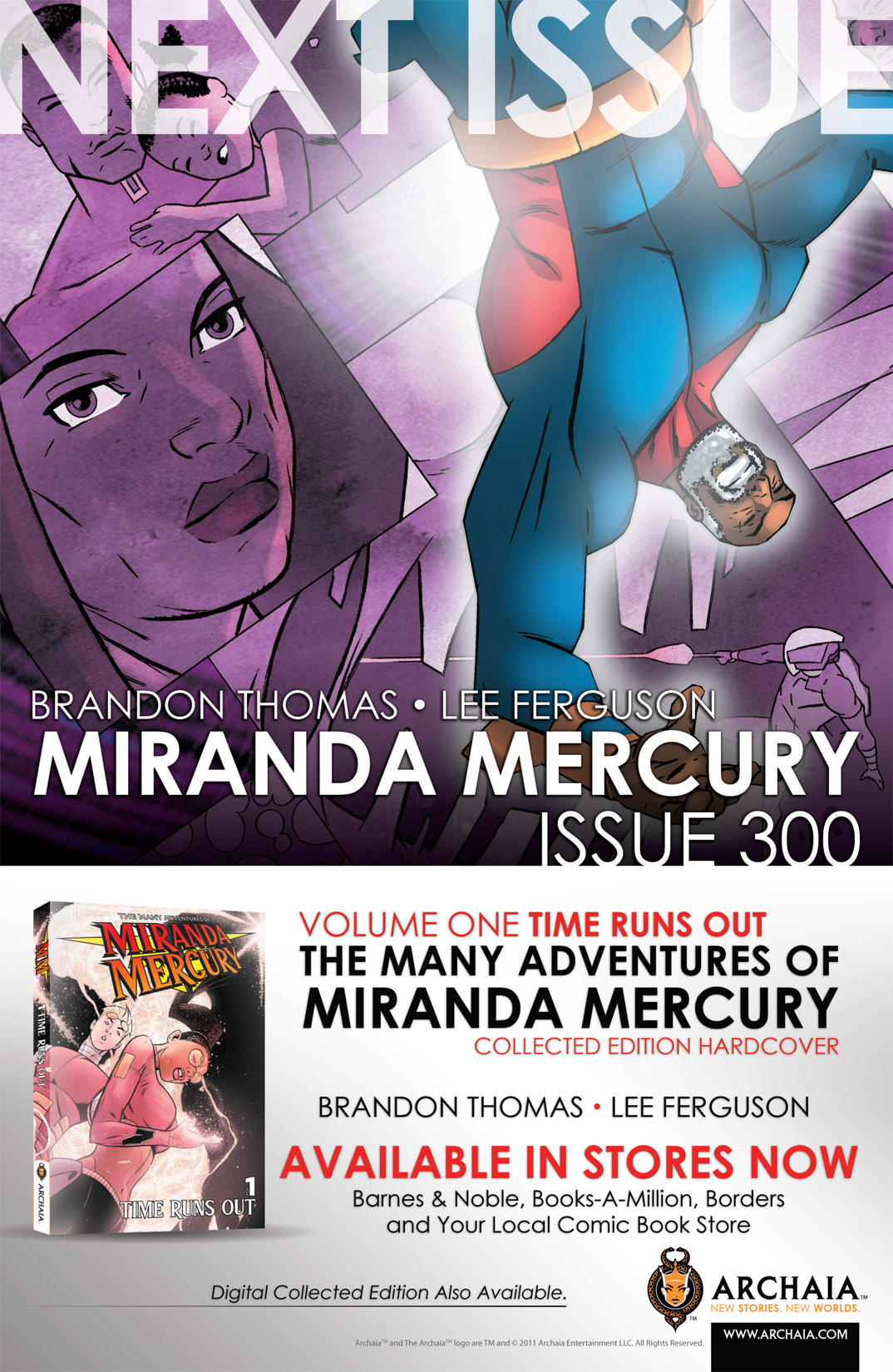 Read online The Many Adventures of Miranda Mercury: Time Runs Out comic -  Issue # TPB - 139