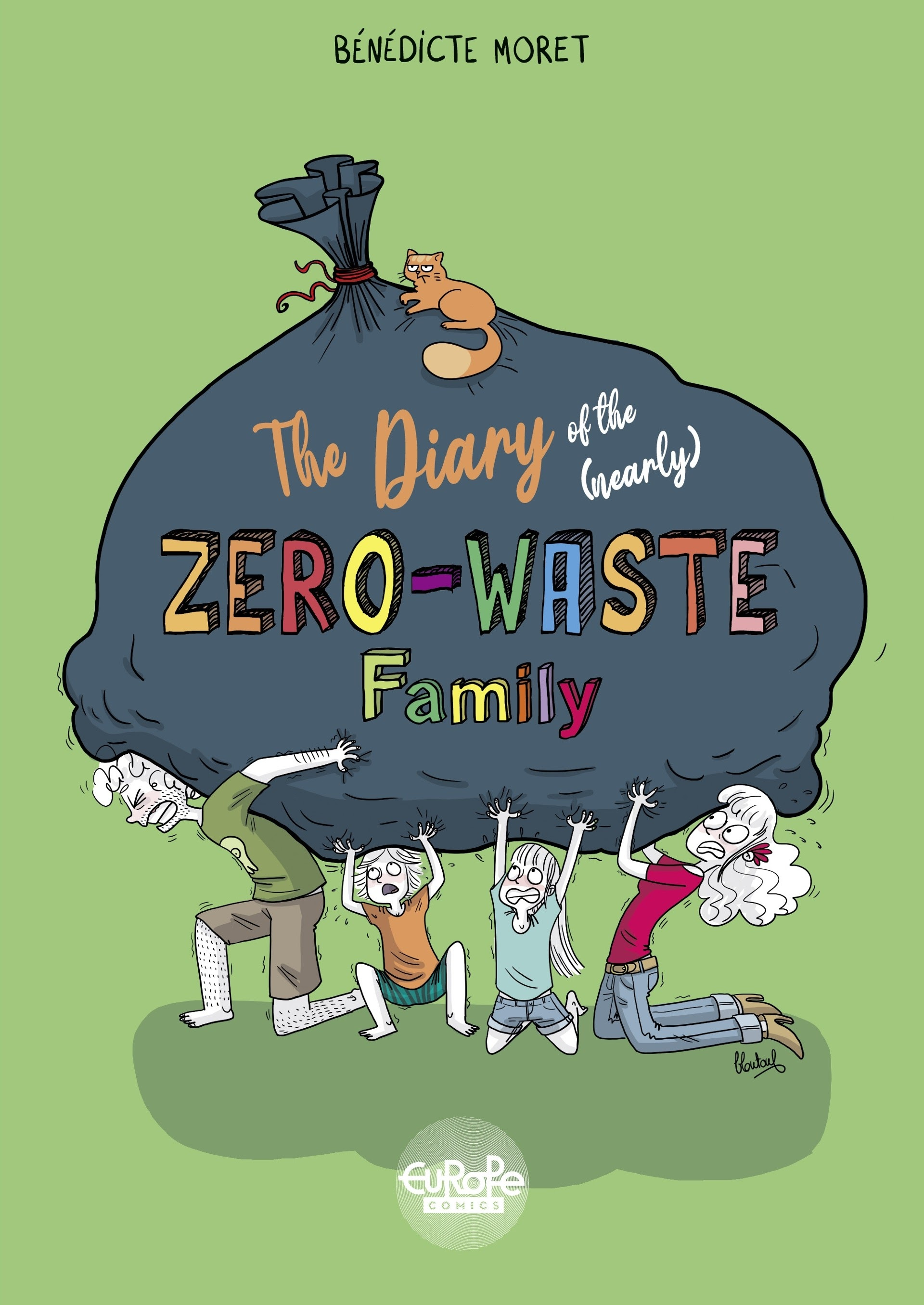 The Diary of the (Nearly) Zero-Waste Family TPB Page 1