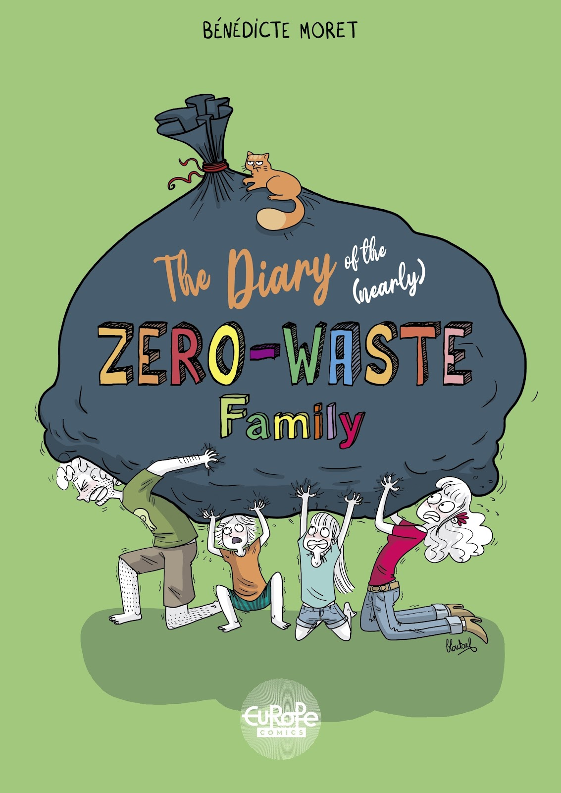 The Diary of the (Nearly) Zero-Waste Family issue TPB - Page 1