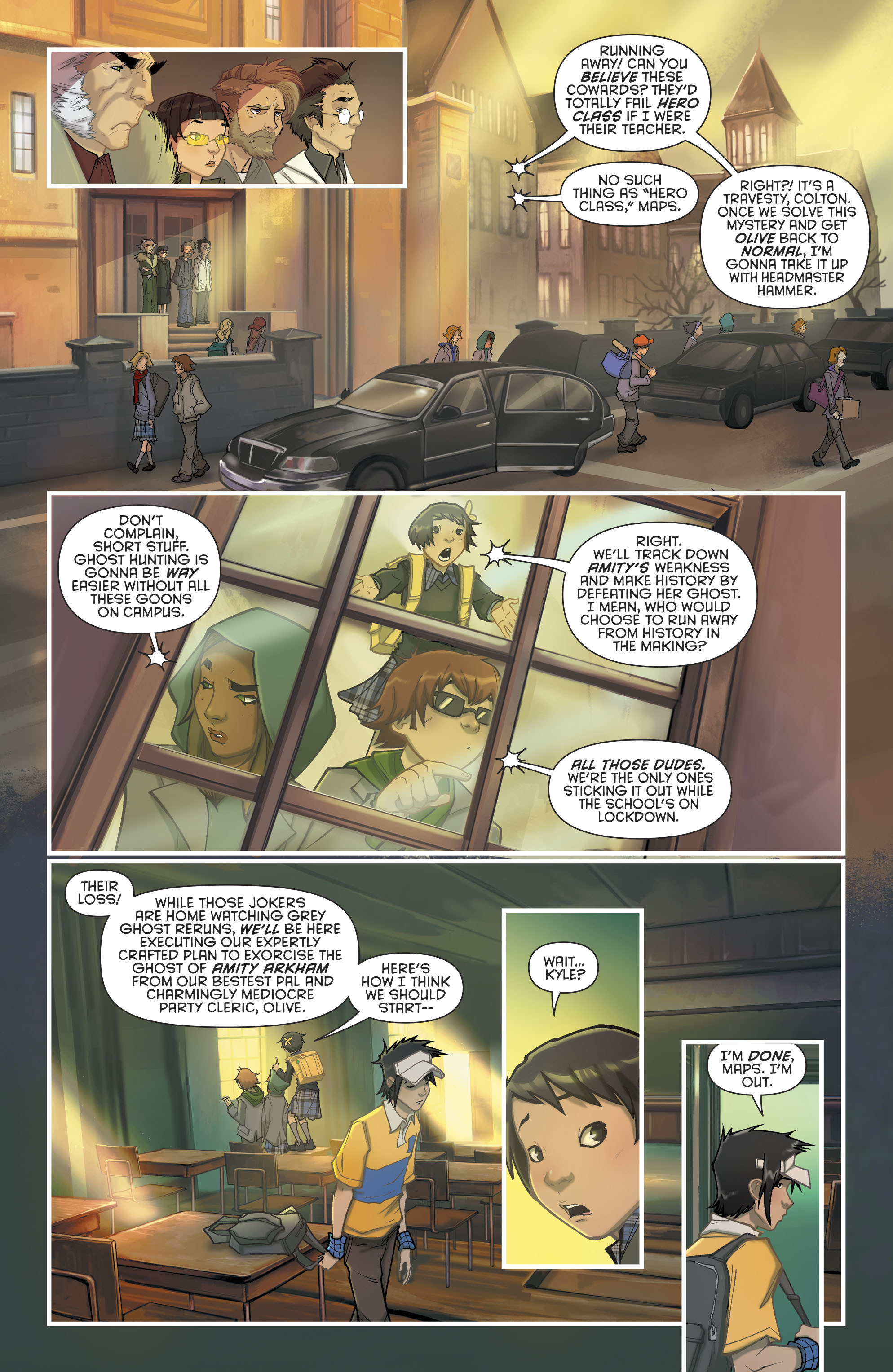 Read online Gotham Academy: Second Semester comic -  Issue #9 - 5