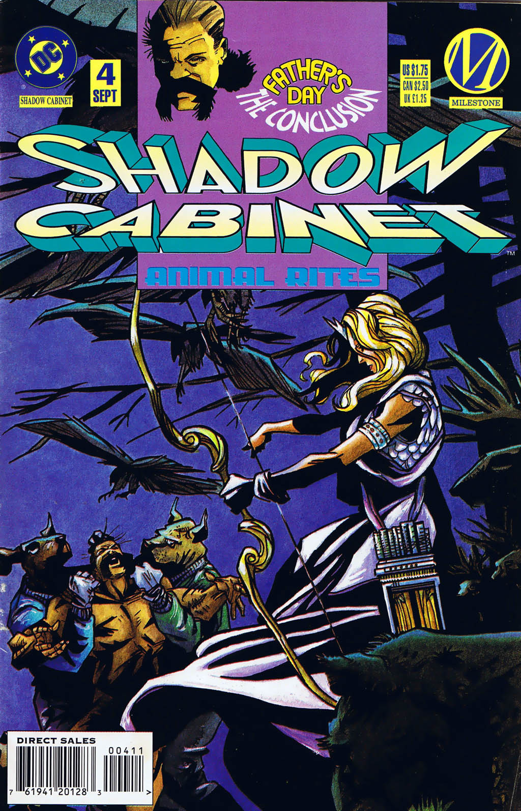 Read online Shadow Cabinet comic -  Issue #4 - 1