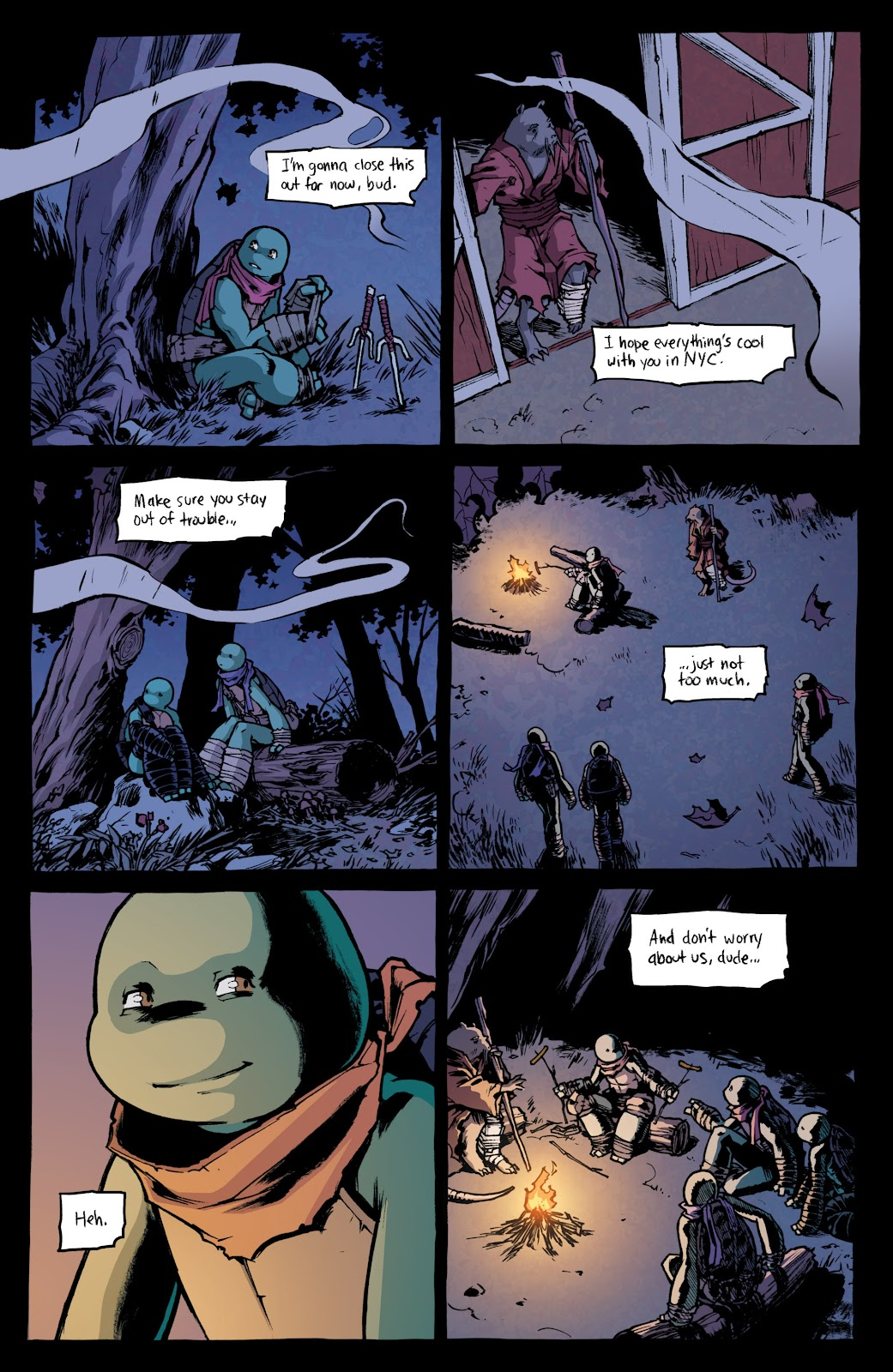 Read online Teenage Mutant Ninja Turtles: The IDW Collection comic -  Issue # TPB 4 (Part 1) - 72