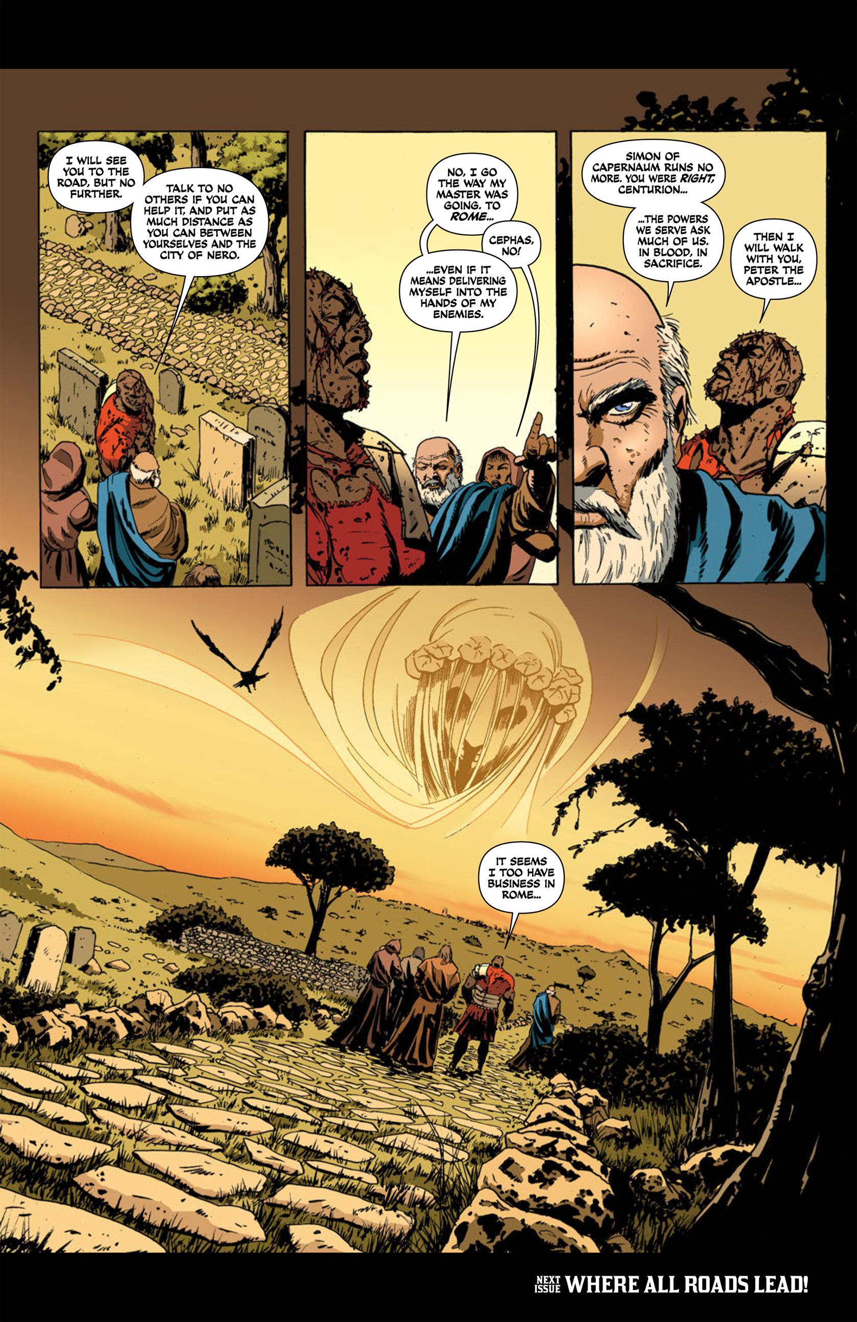 Read online Aquila comic -  Issue #2 - 34