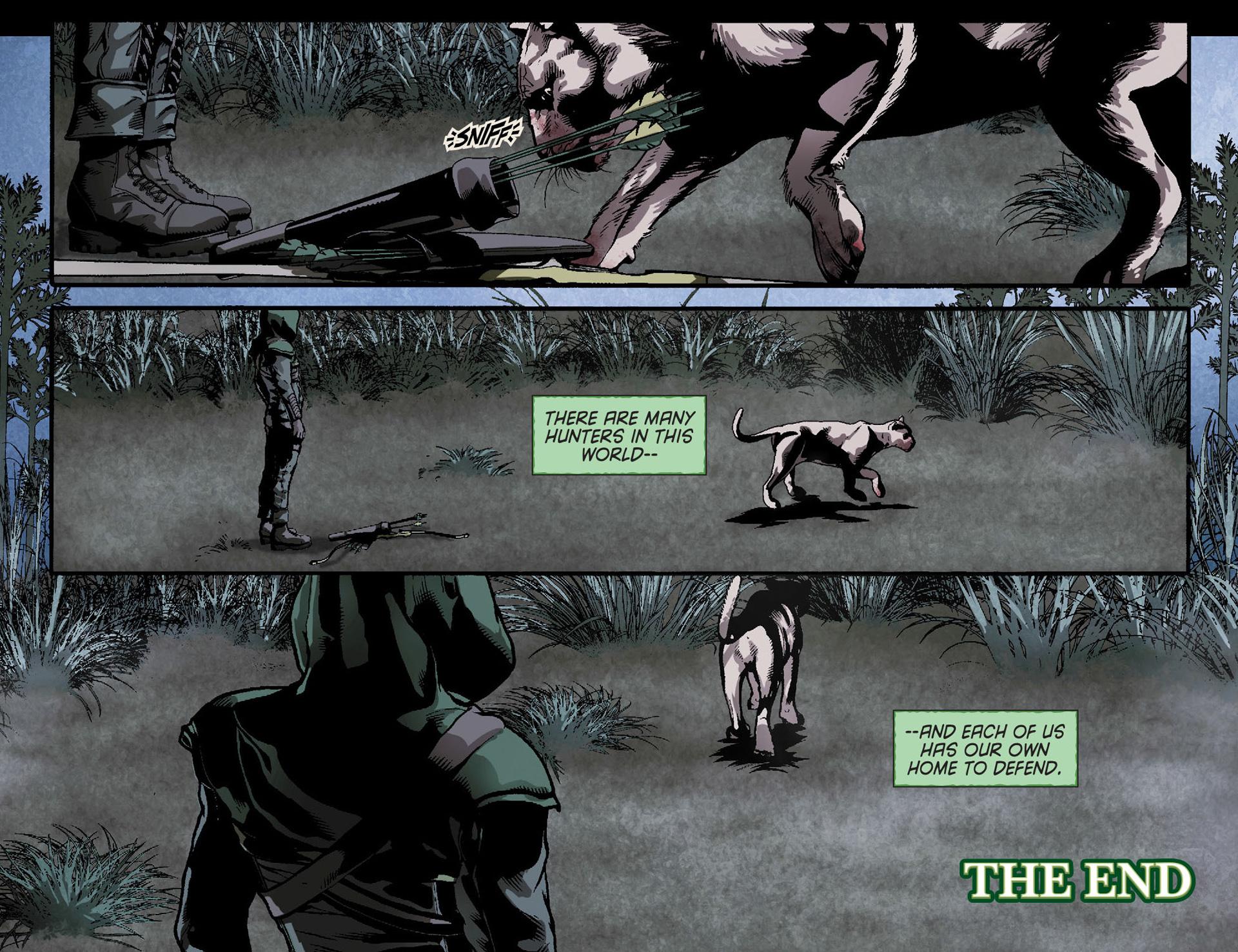 Read online Arrow [II] comic -  Issue #23 - 22