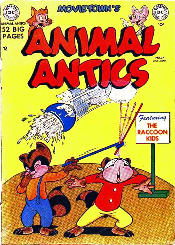 Animal Antics 27 Page 1