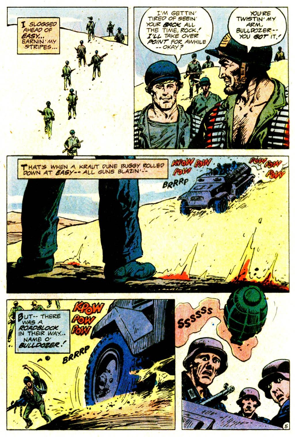 Read online Sgt. Rock comic -  Issue #365 - 8