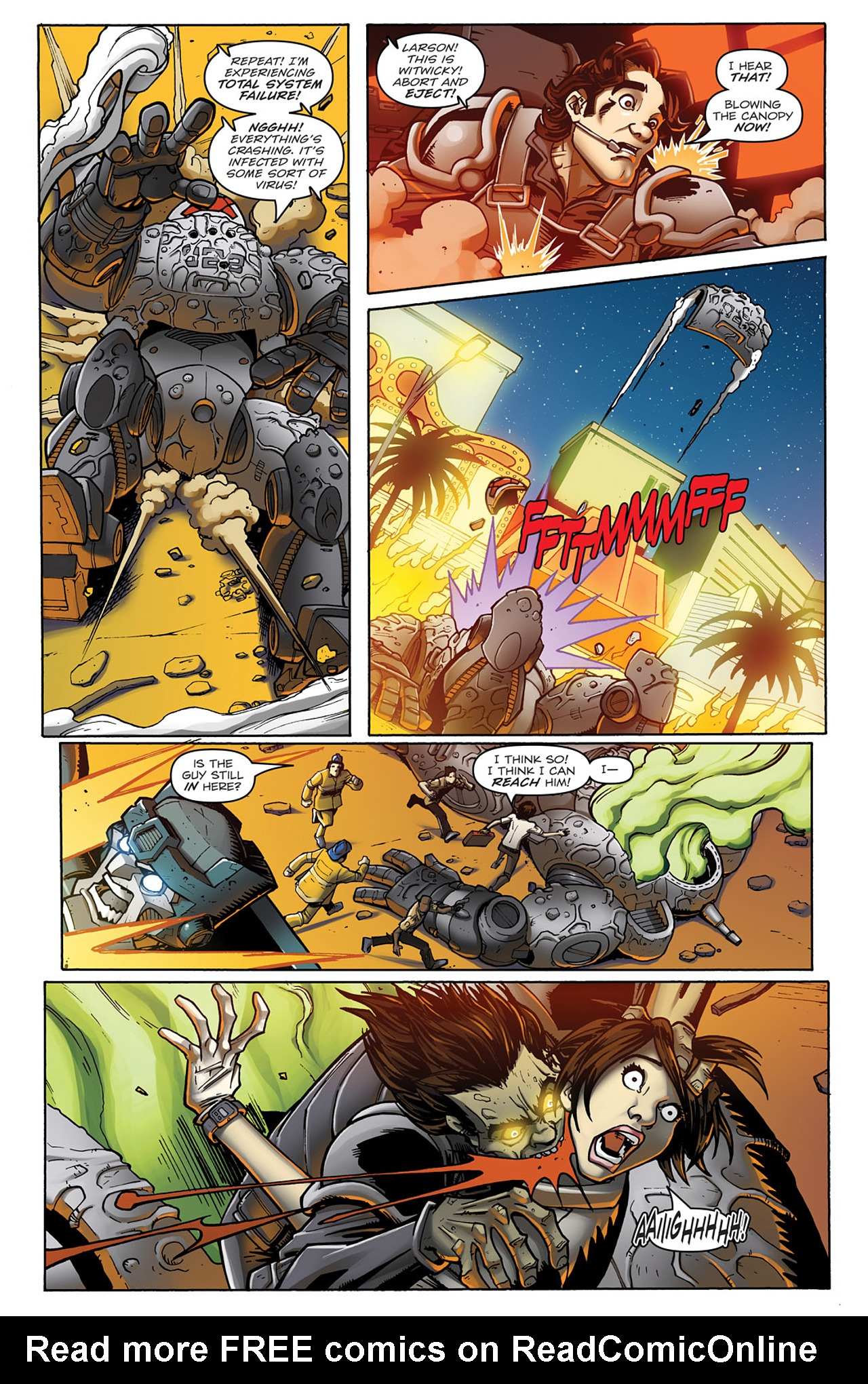 Read online Transformers: Infestation comic -  Issue #1 - 16