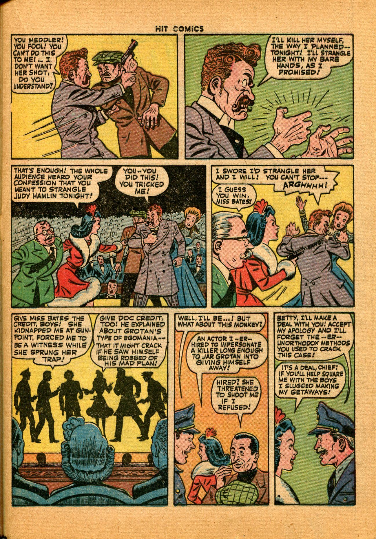 Read online Hit Comics comic -  Issue #35 - 37