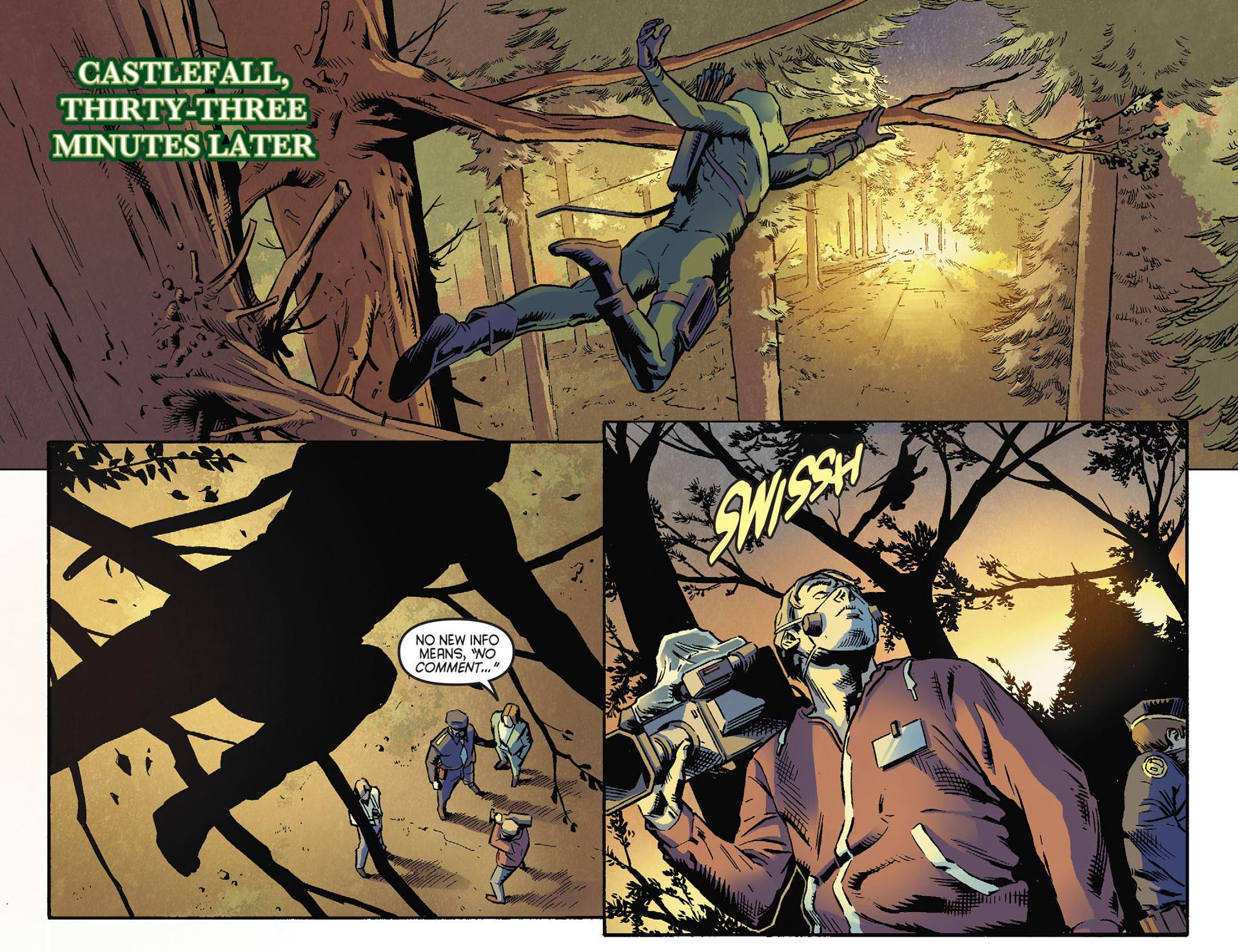 Read online Arrow [II] comic -  Issue #30 - 7
