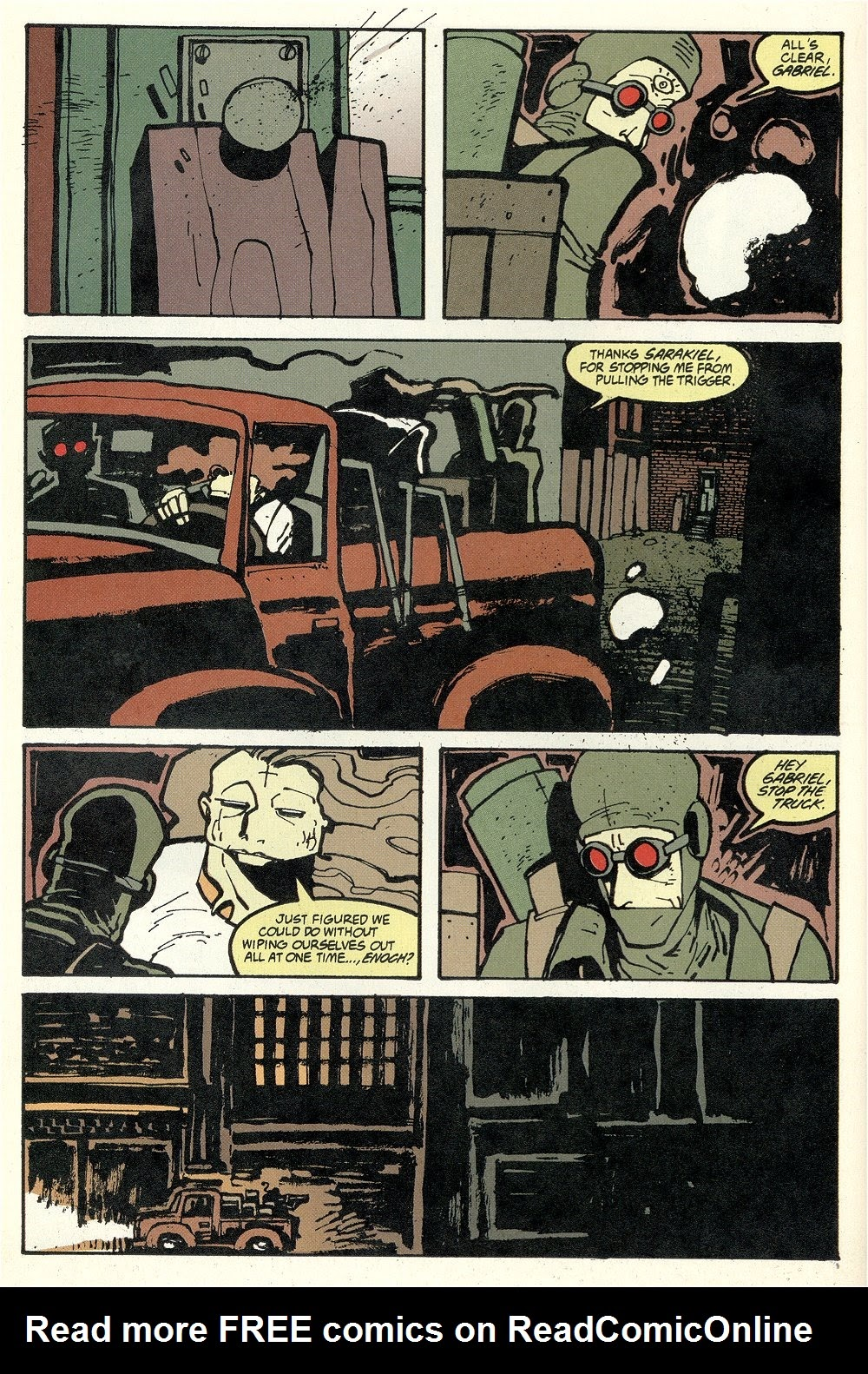 Read online Ted McKeever's Metropol comic -  Issue #11 - 18