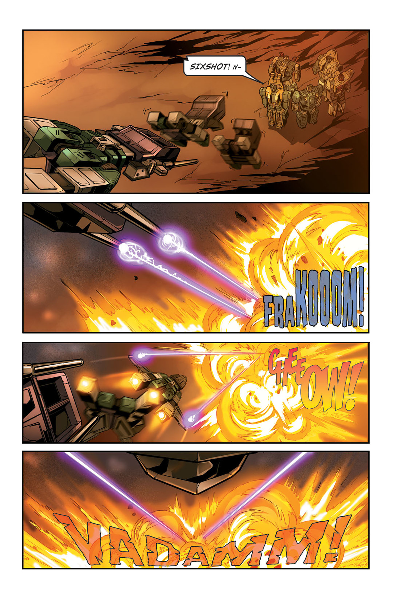 Read online Transformers Spotlight: Sixshot comic -  Issue # Full - 23