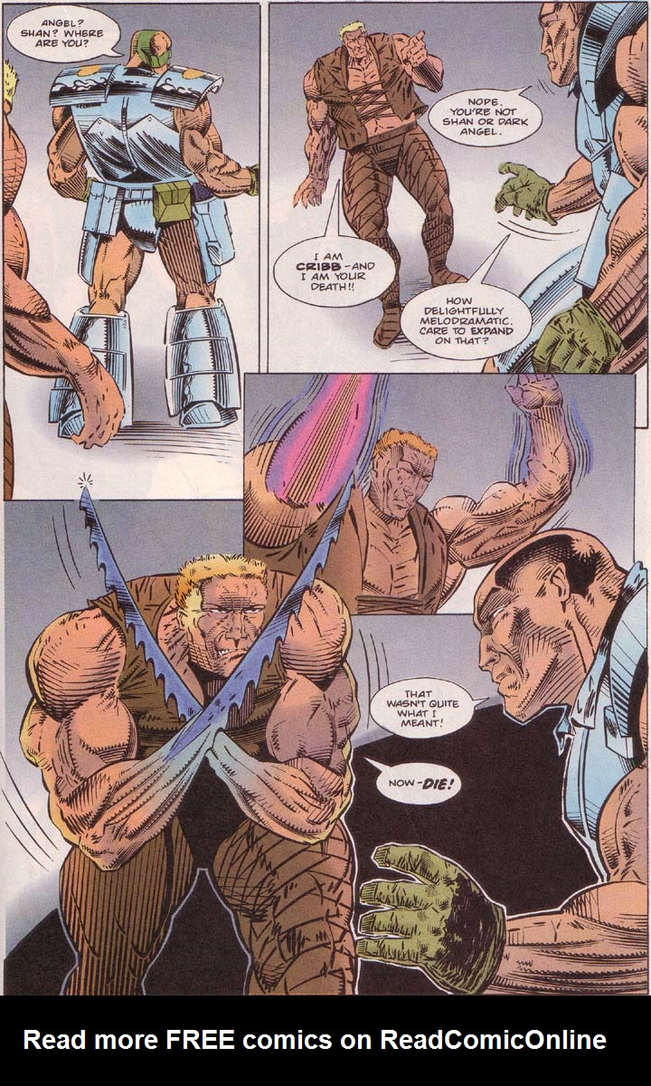 Read online Cyberspace 3000 comic -  Issue #7 - 11