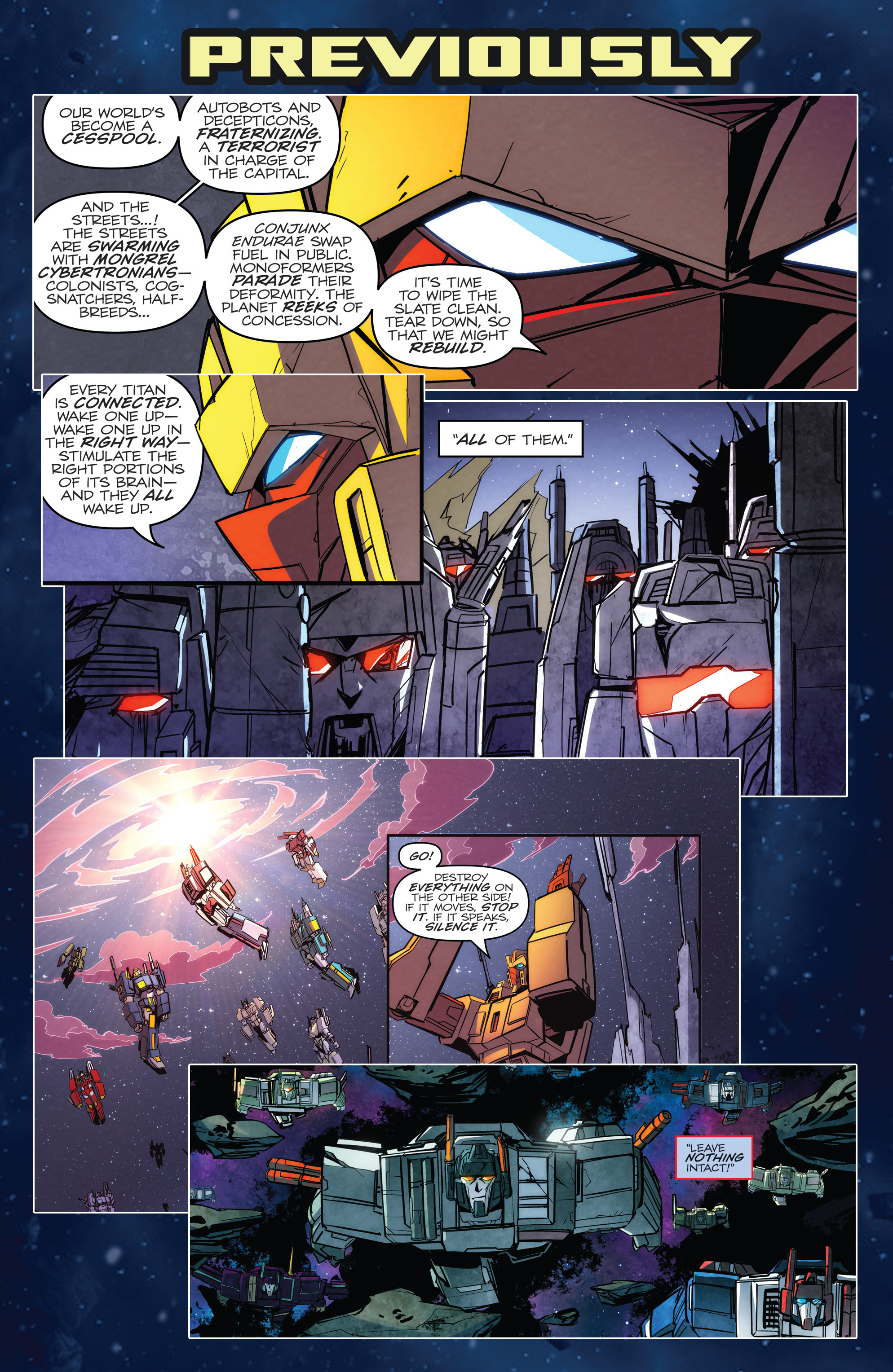 Read online Transformers: Till All Are One comic -  Issue #5 - 3
