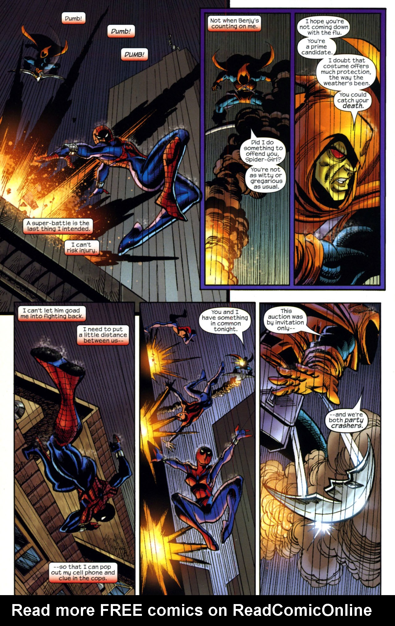 Read online Amazing Spider-Girl comic -  Issue #17 - 21