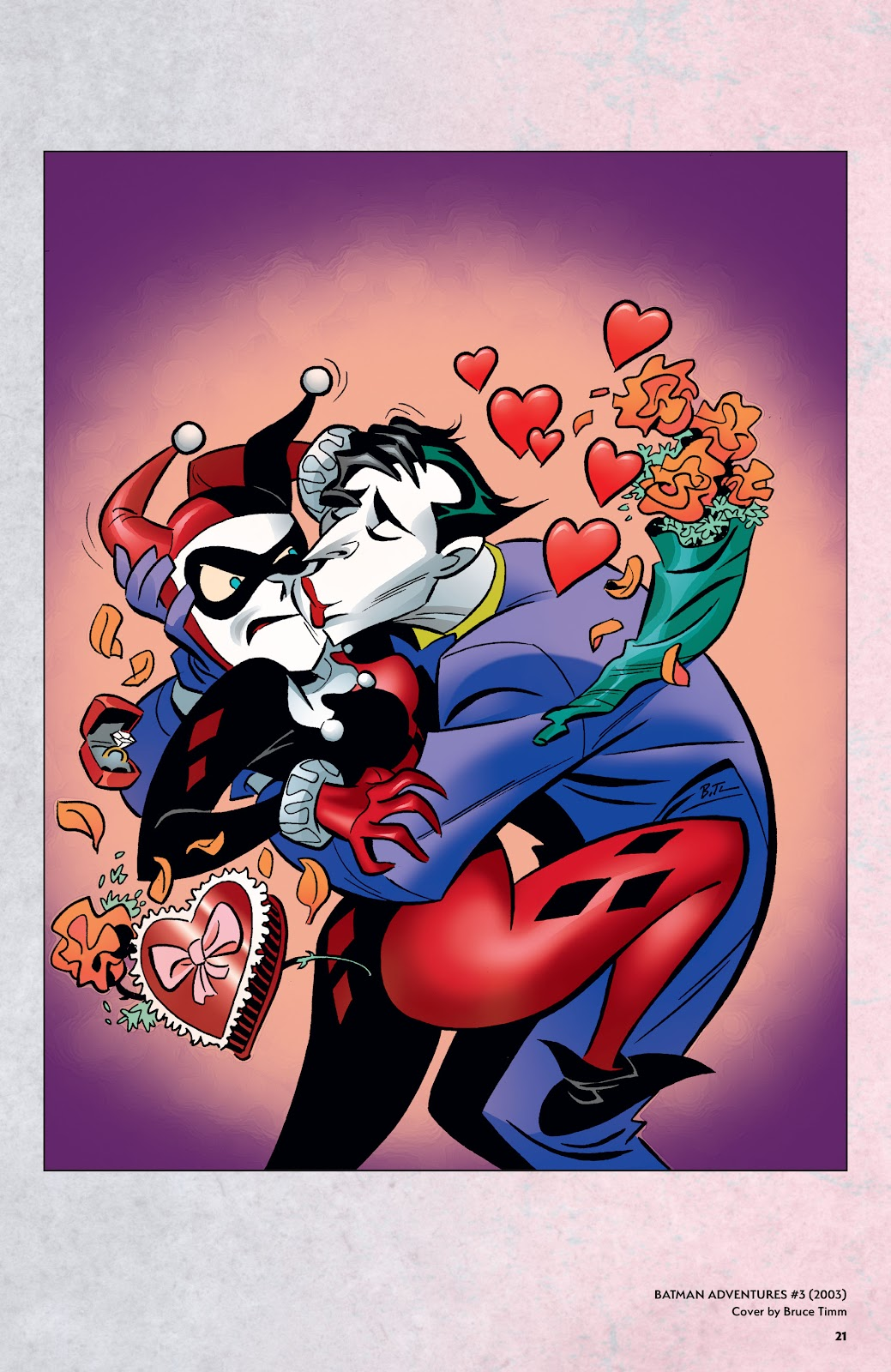 Read online Harley Quinn: A Rogue's Gallery―The Deluxe Cover Art Collection comic -  Issue # TPB (Part 1) - 20