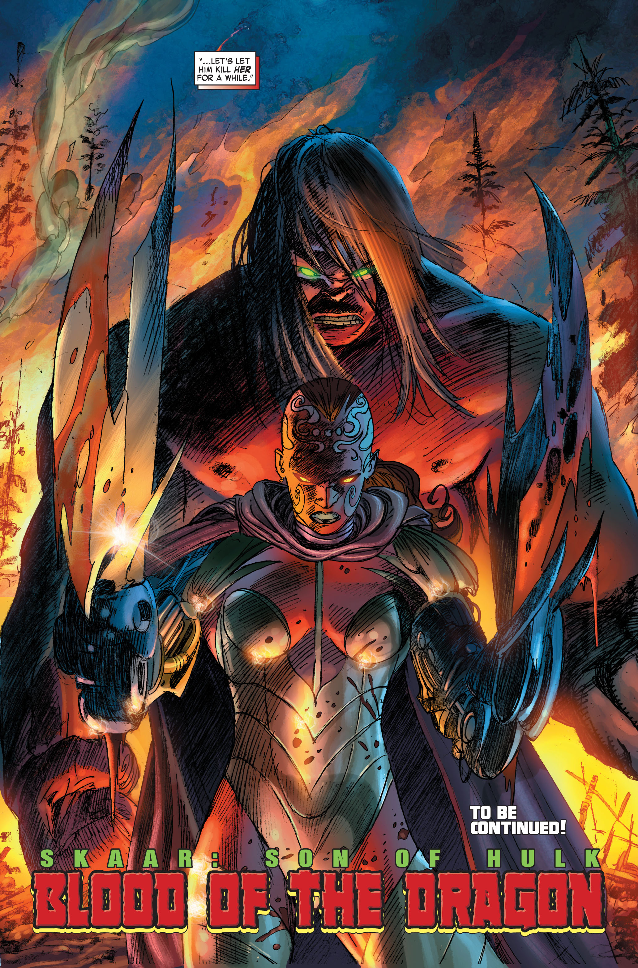 Read online Skaar: Son of Hulk comic -  Issue #2 - 16