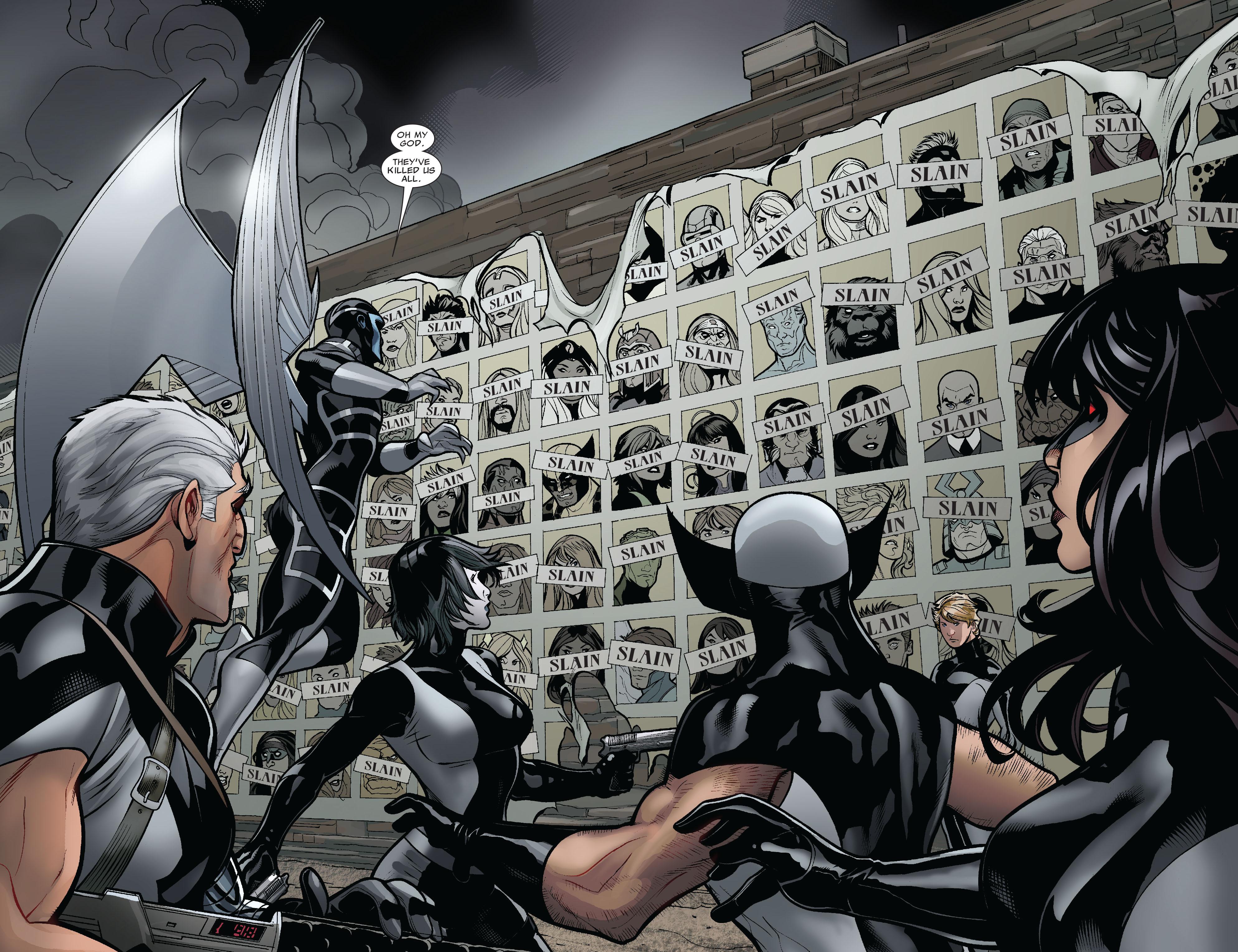 Read online Uncanny X-Men (1963) comic -  Issue #525 - 16
