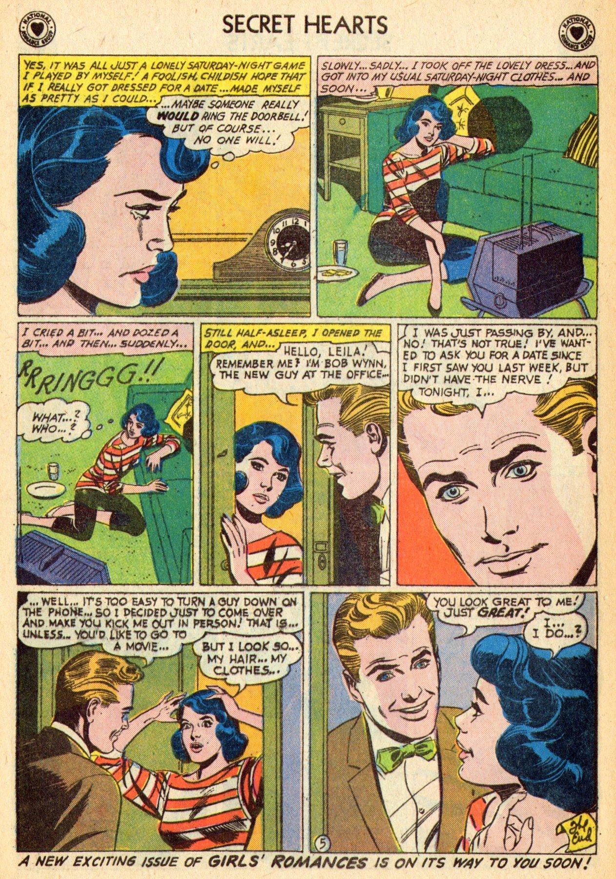 Read online Secret Hearts comic -  Issue #70 - 24