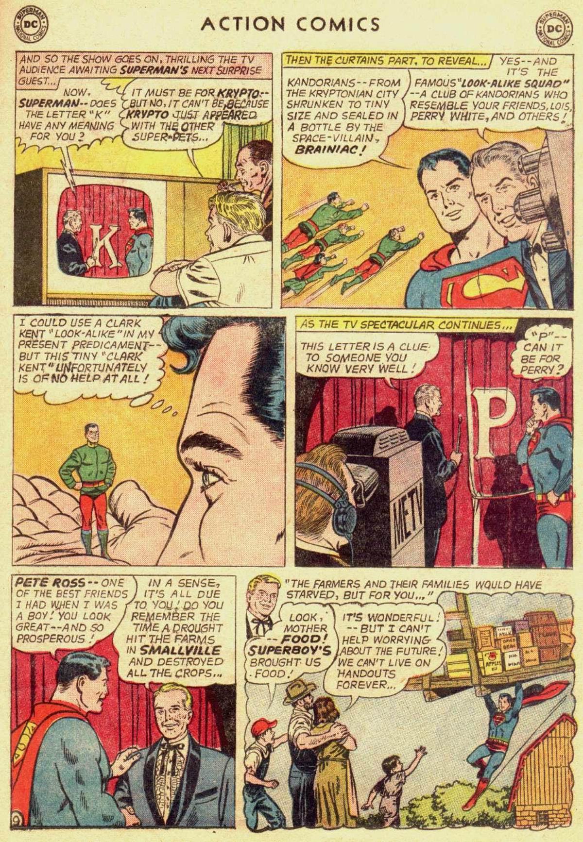 Read online Action Comics (1938) comic -  Issue #309 - 11