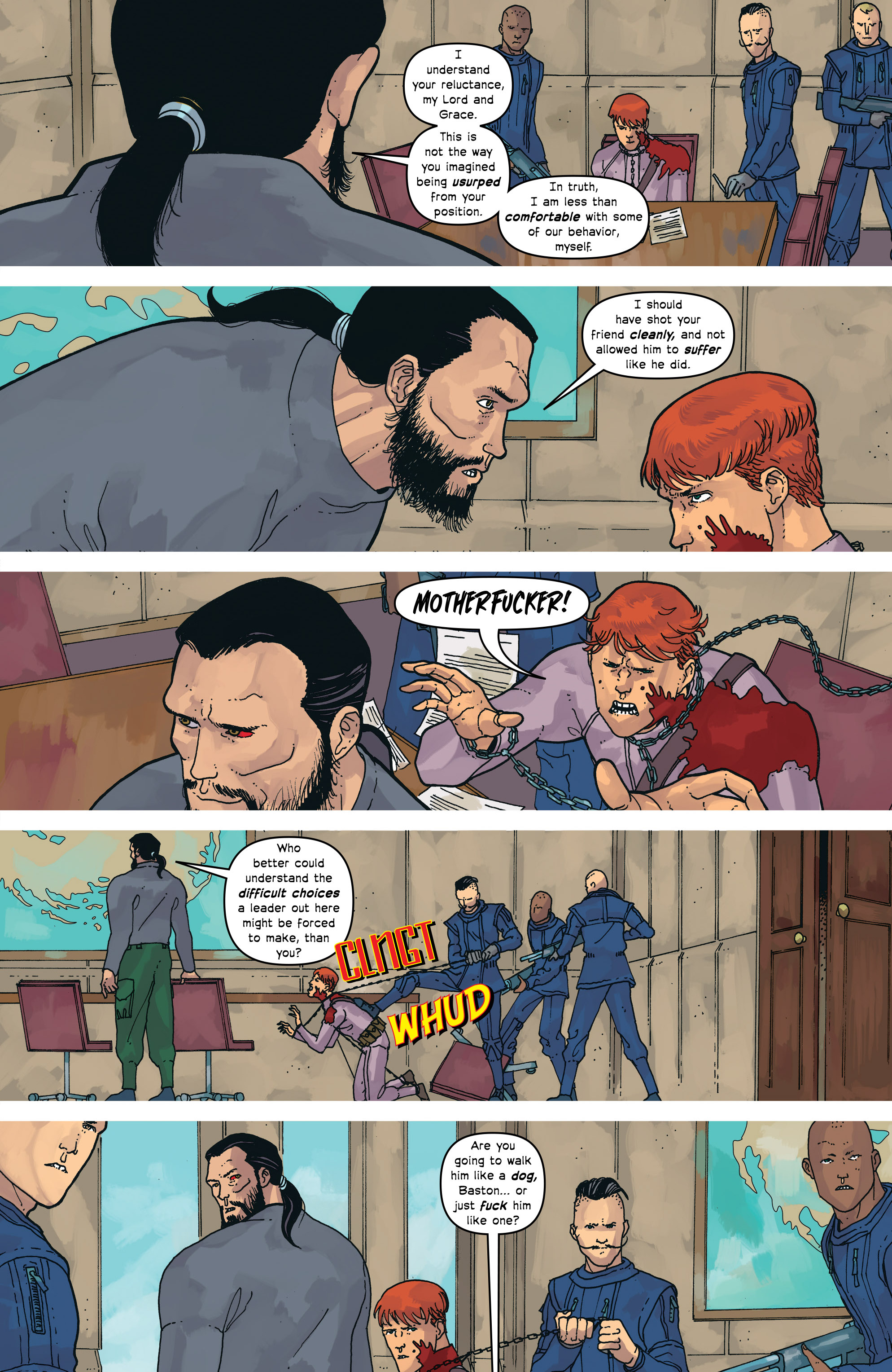Read online Great Pacific comic -  Issue #16 - 13