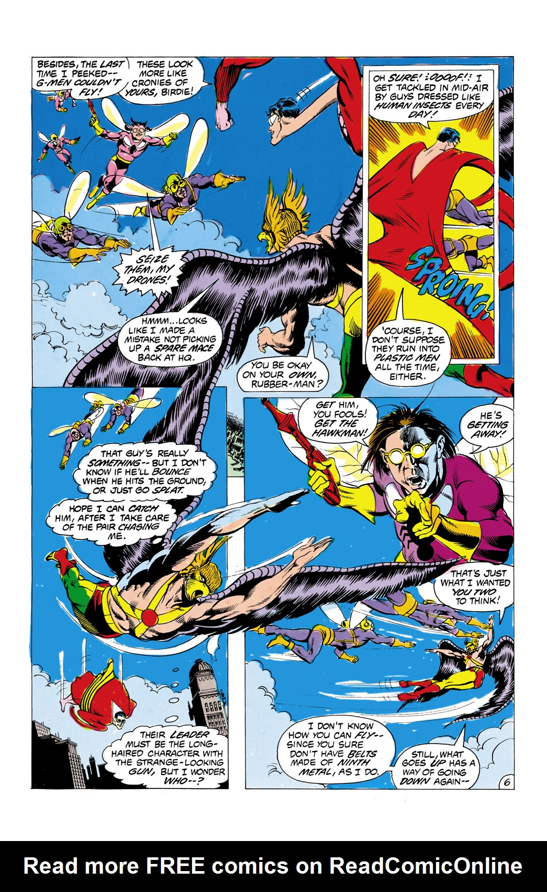 Read online All-Star Squadron comic -  Issue #1 - 7