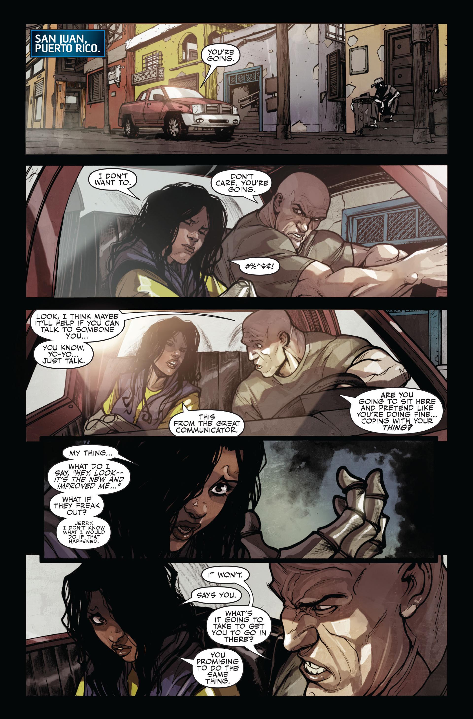 Read online Secret Warriors comic -  Issue #11 - 16