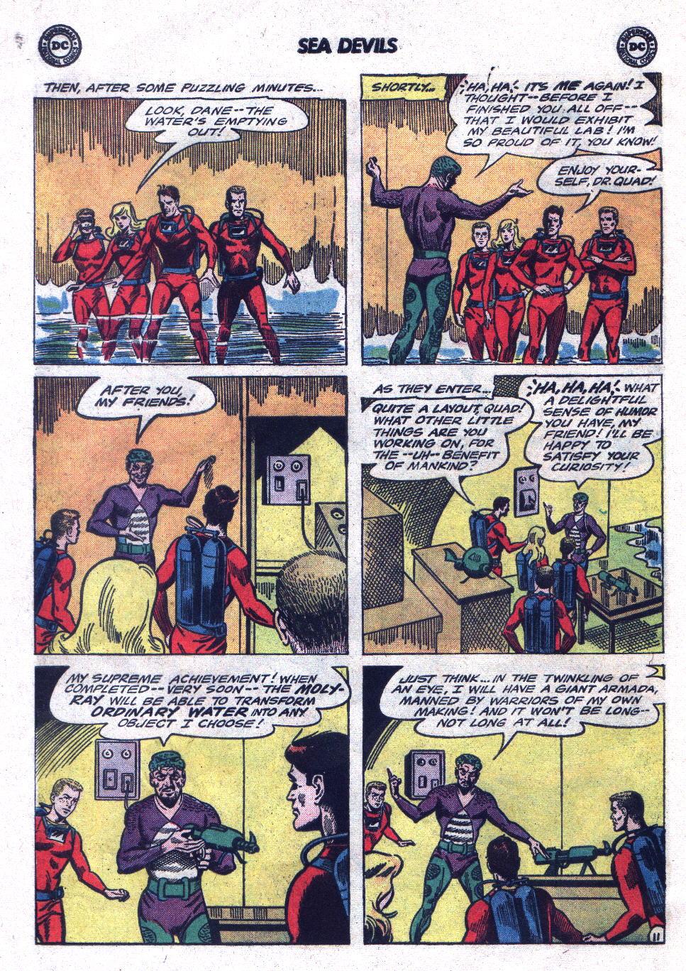 Read online Sea Devils comic -  Issue #21 - 16