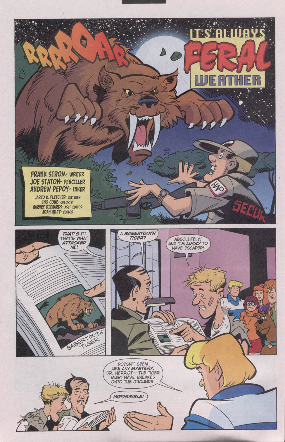 Read online Scooby-Doo (1997) comic -  Issue #81 - 4