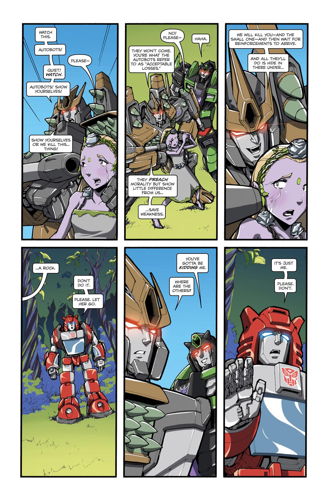 Read online Transformers Spotlight: Cliffjumper comic -  Issue # Full - 19