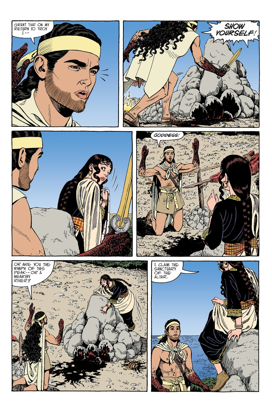 Read online Age of Bronze comic -  Issue #34 - 16
