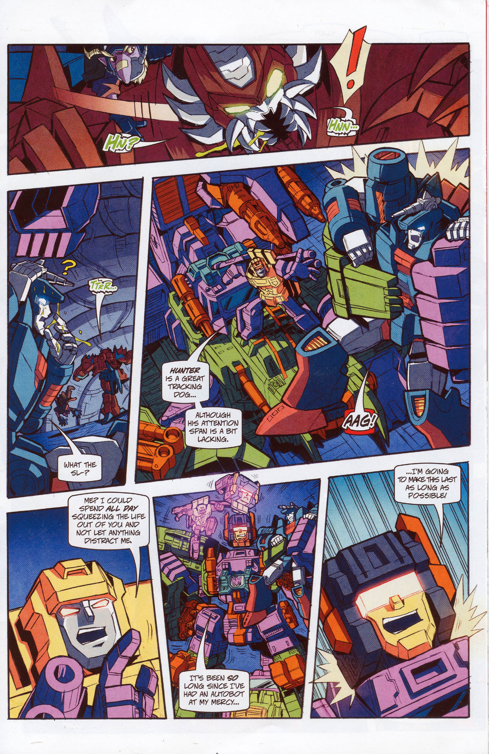 Read online Transformers: Timelines comic -  Issue #10 - 15
