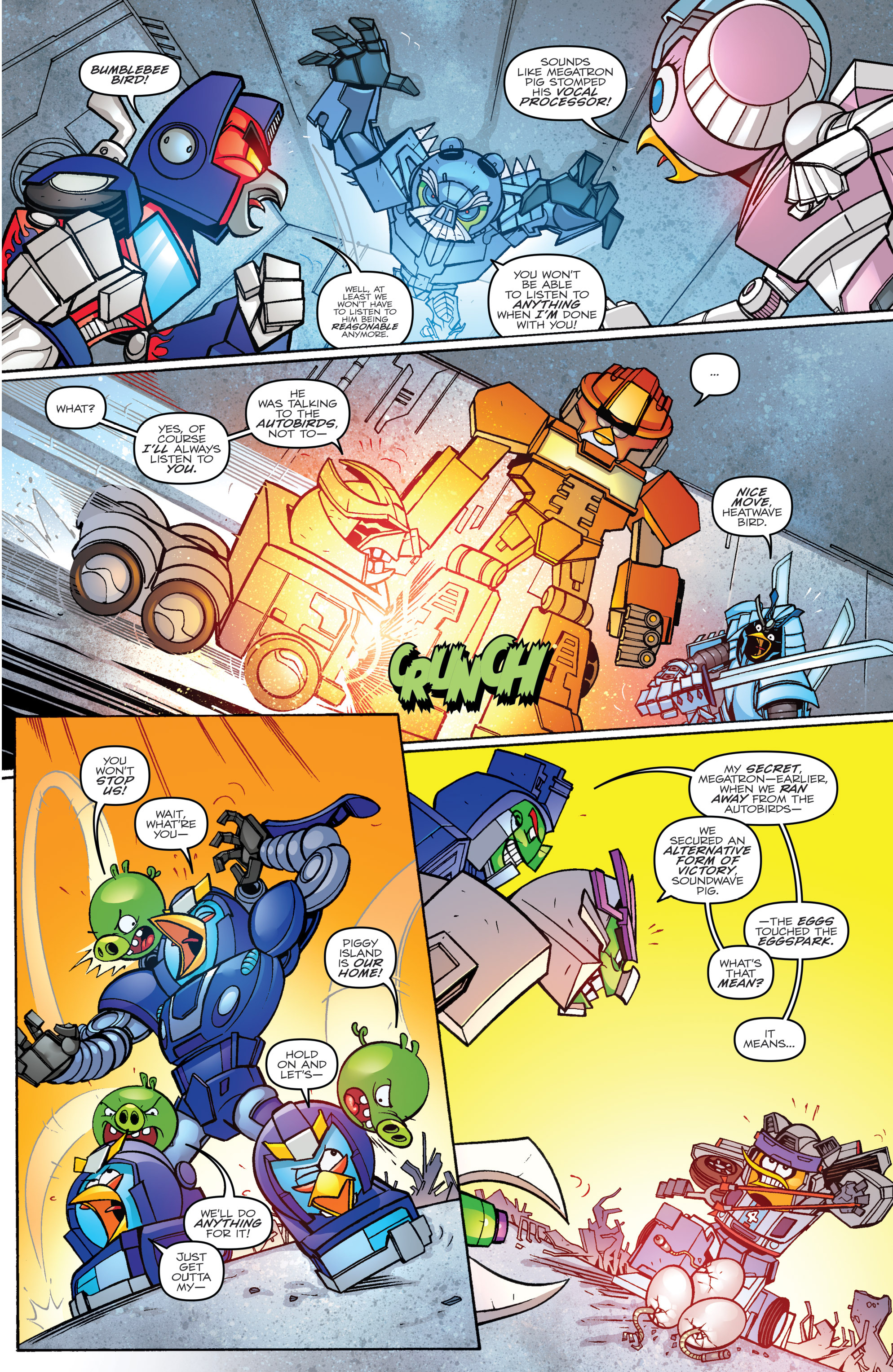 Read online Angry Birds Transformers comic -  Issue #2 - 19
