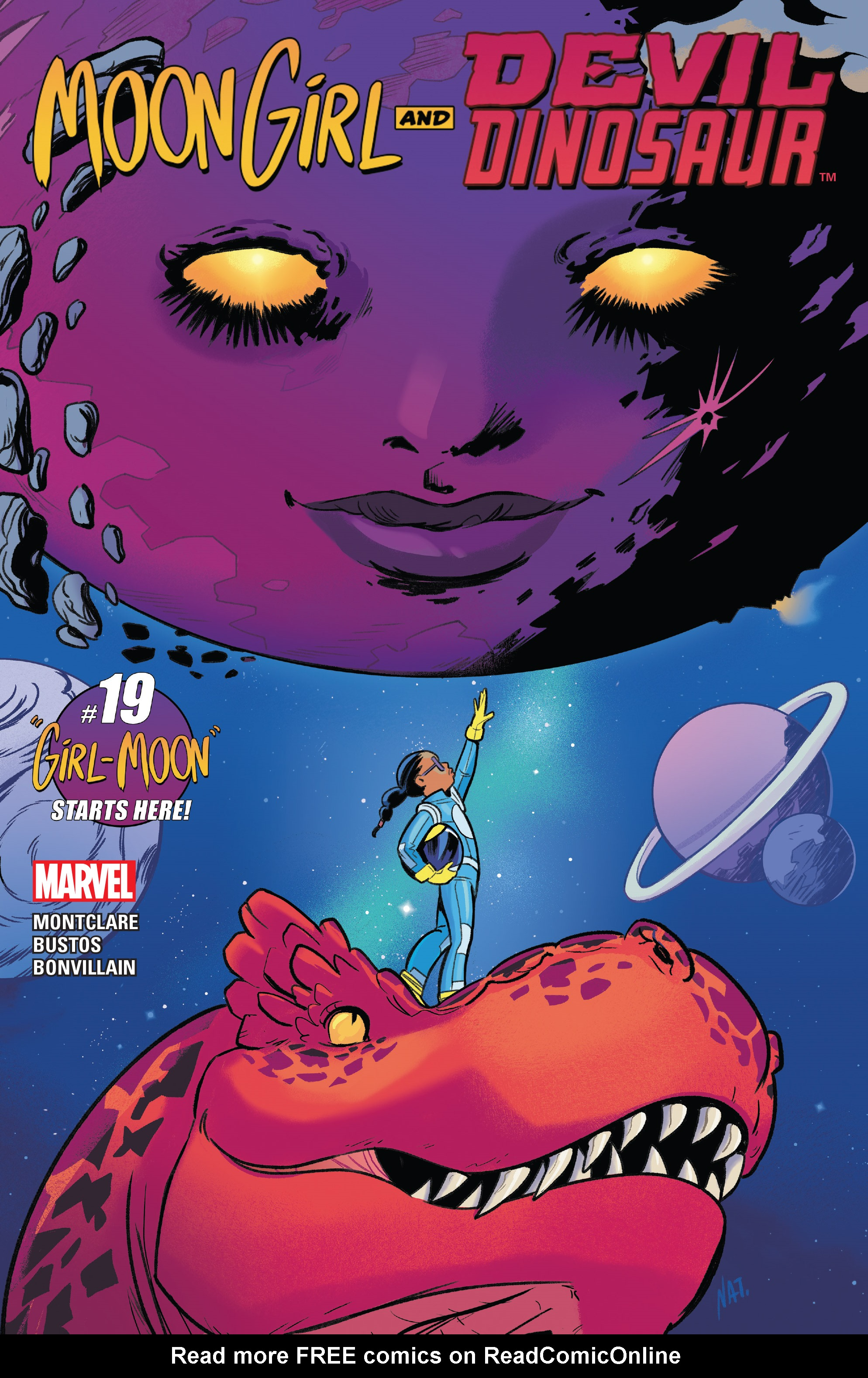 Read online Moon Girl And Devil Dinosaur comic -  Issue #19 - 1