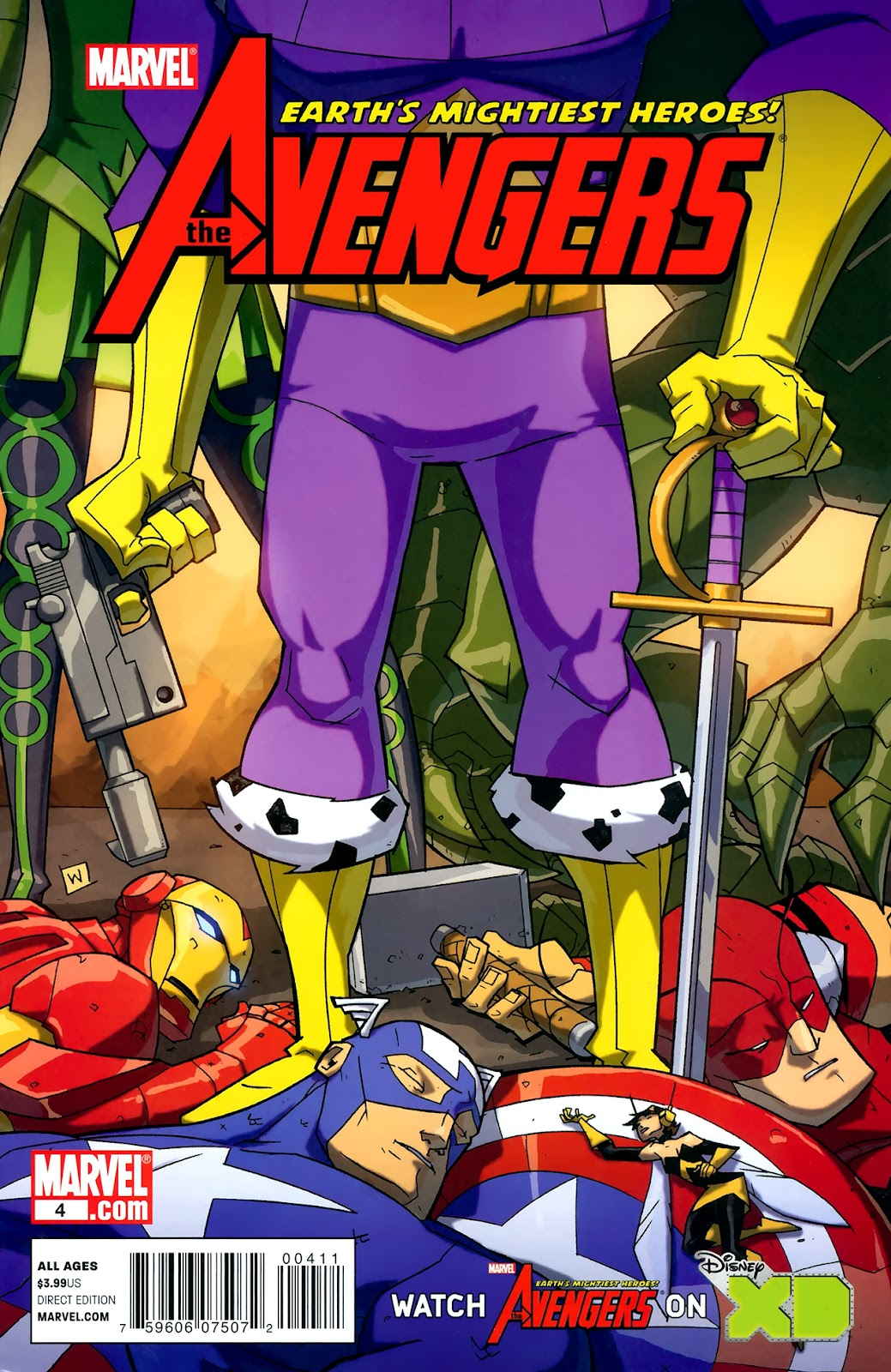 Avengers: Earth's Mightiest Heroes (2011) Issue #4 #4 - English 1