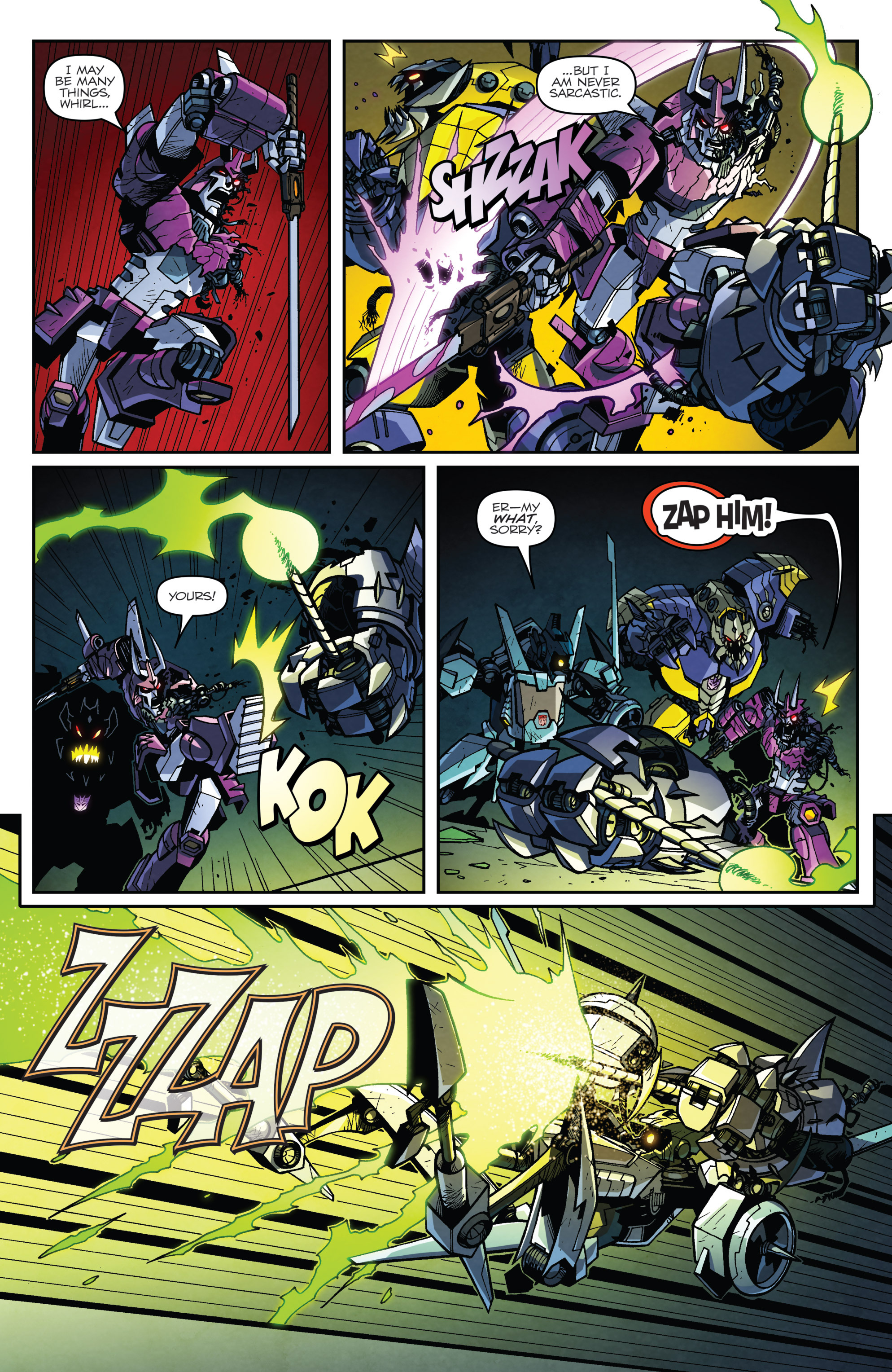 Read online Transformers: Lost Light comic -  Issue #4 - 6