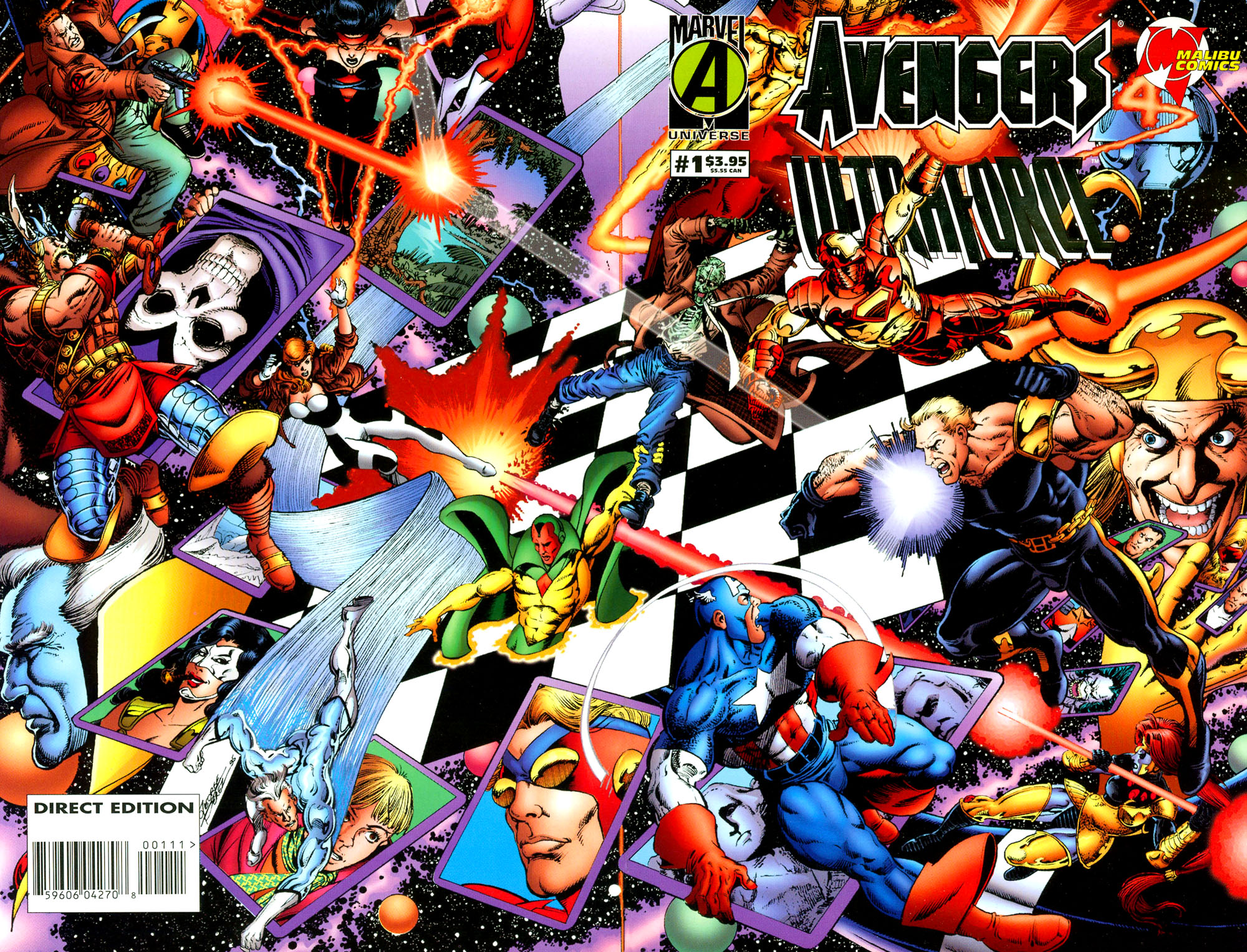 Avengers/UltraForce Full Page 1