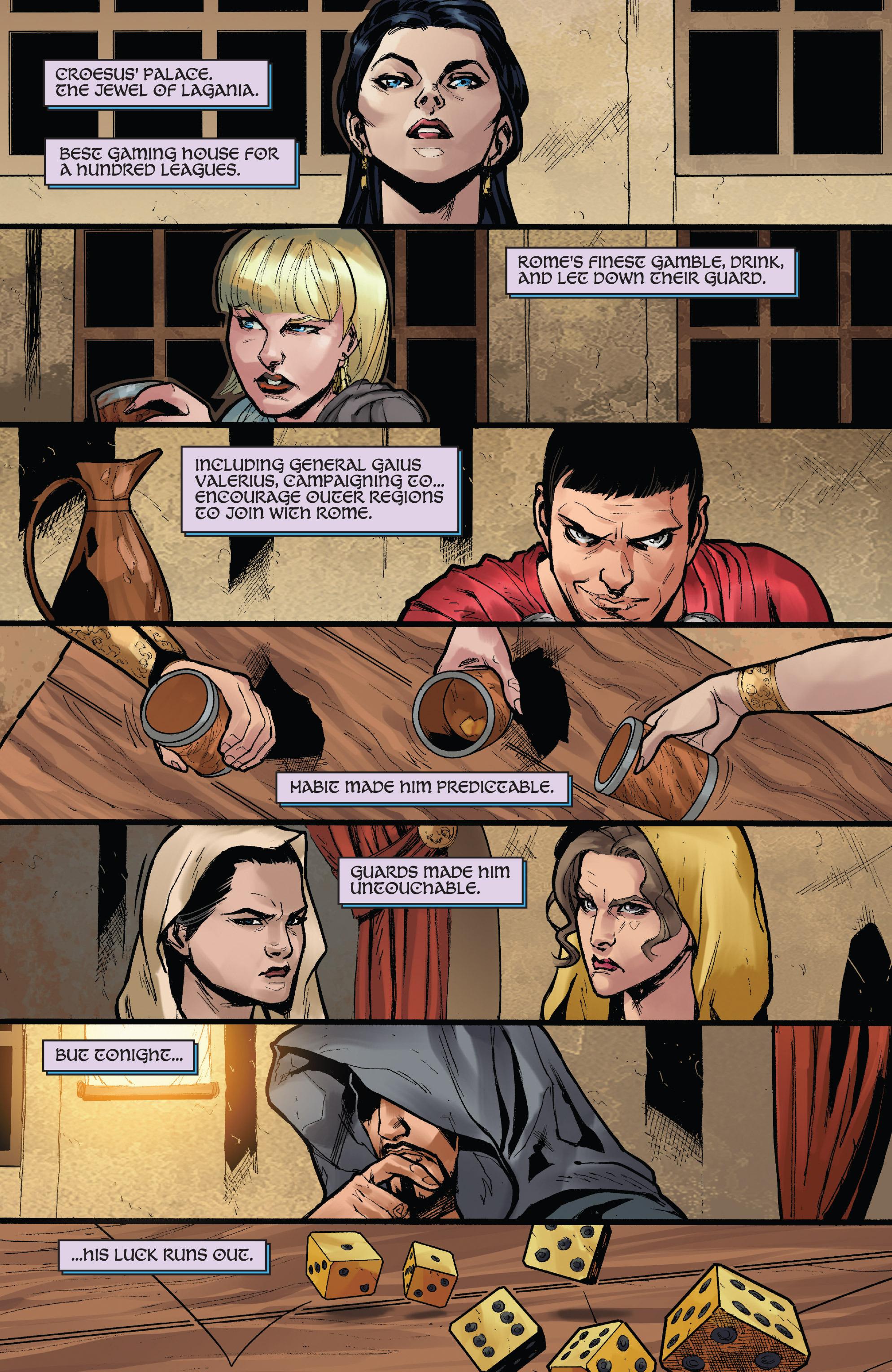 Read online Xena: Warrior Princess (2016) comic -  Issue #3 - 3