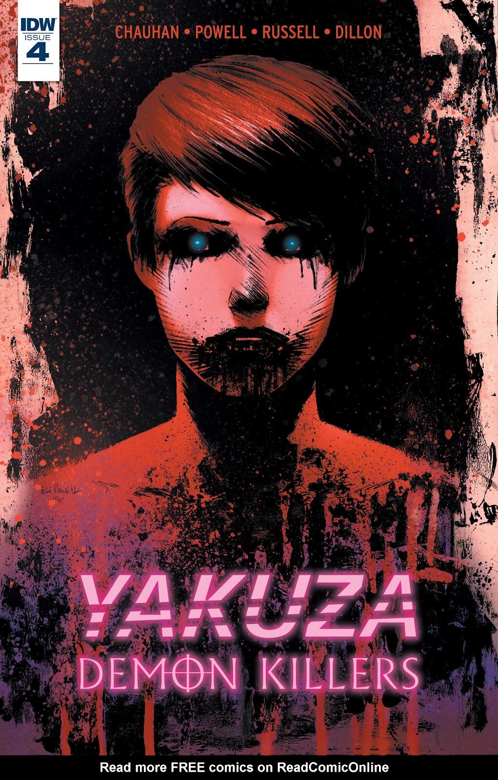 Yakuza Demon Killers 4 Page 1